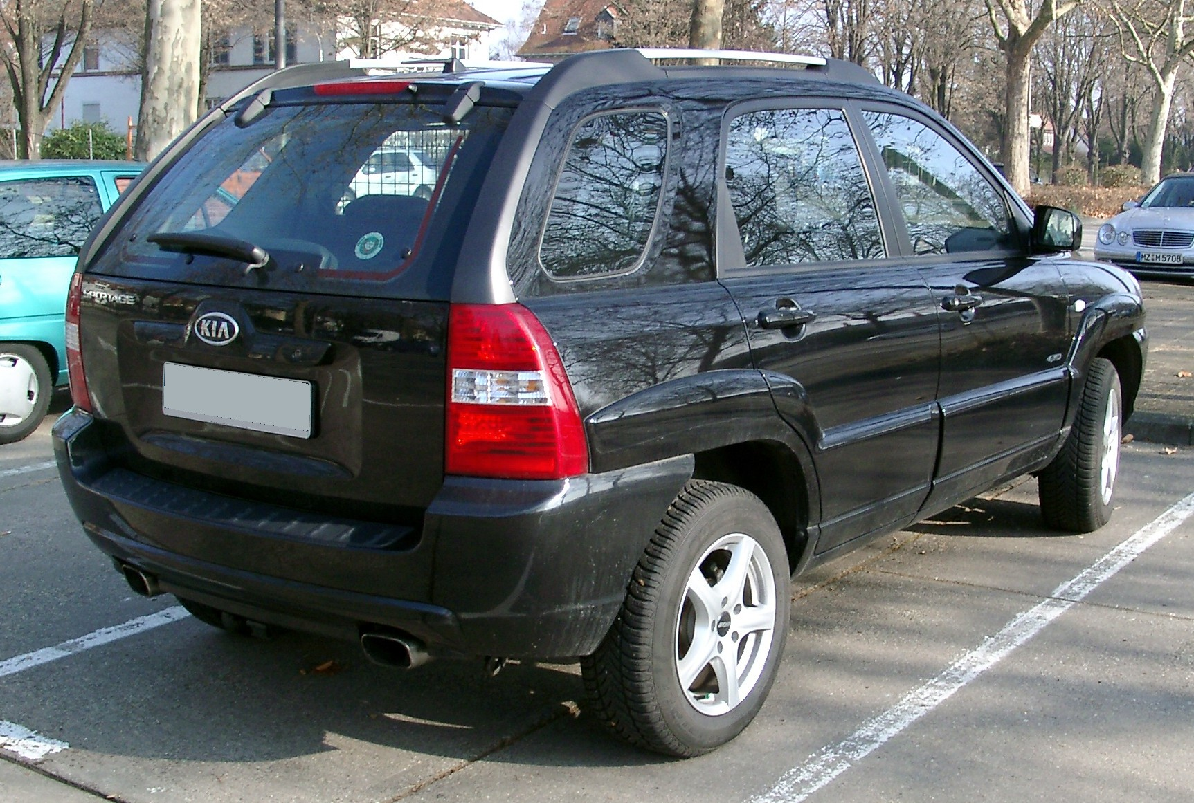 File:Kia Sportage II rear 20080213.jpg - Wikimedia Commons