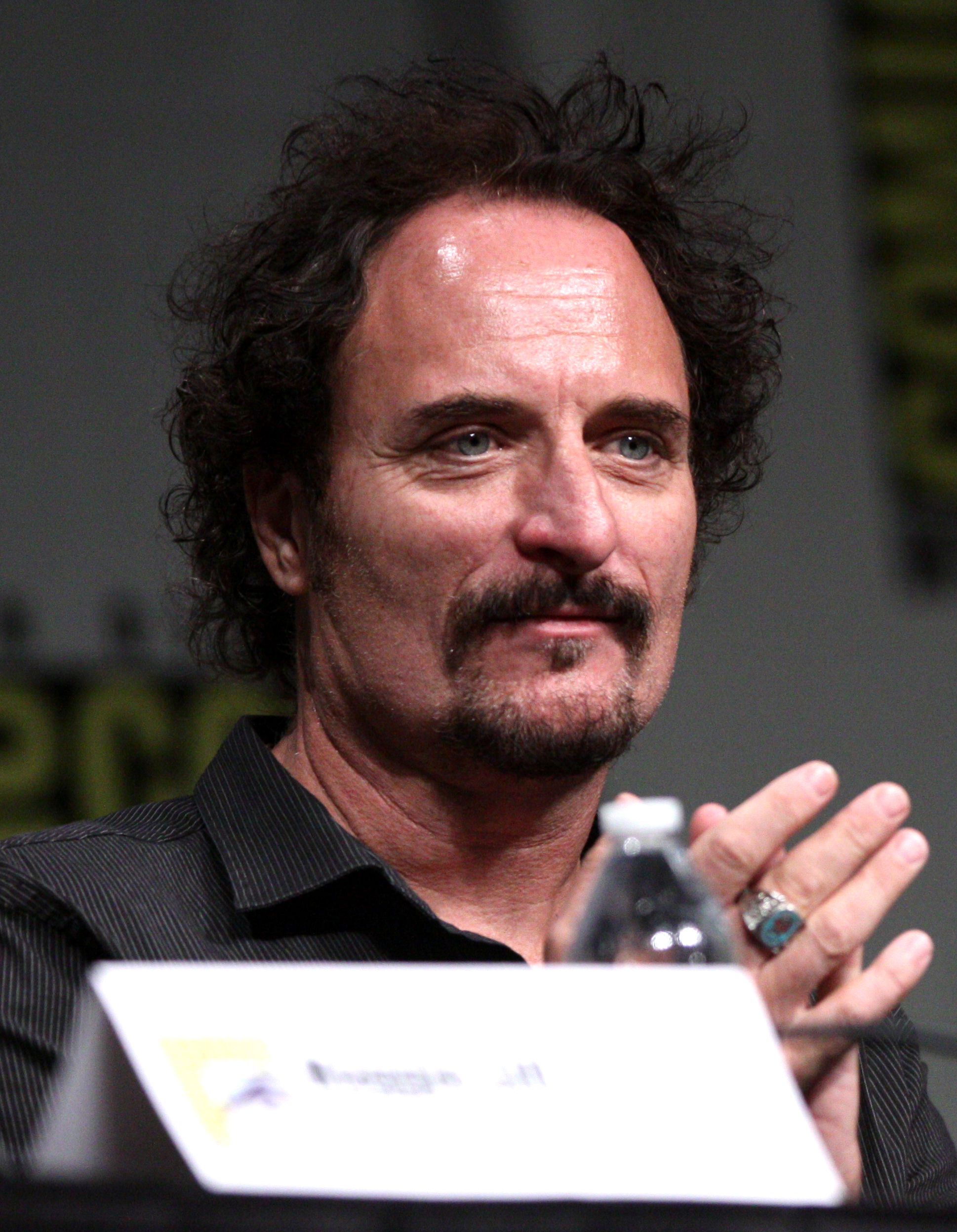 The 60-year old son of father (?) and mother(?) Kim Coates in 2018 photo. Kim Coates earned a  million dollar salary - leaving the net worth at 2.5 million in 2018