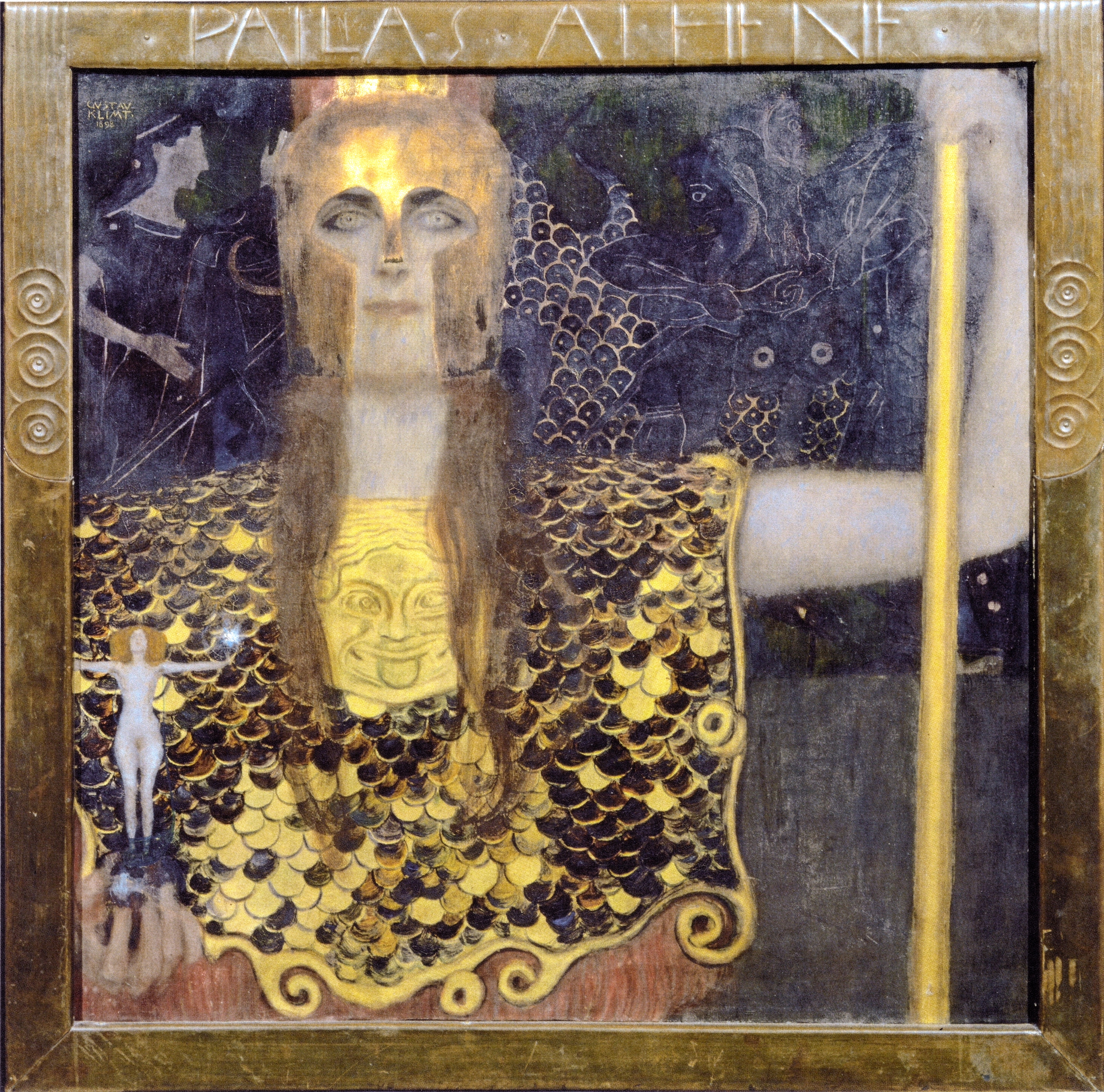 pallas athena painting - photo #16
