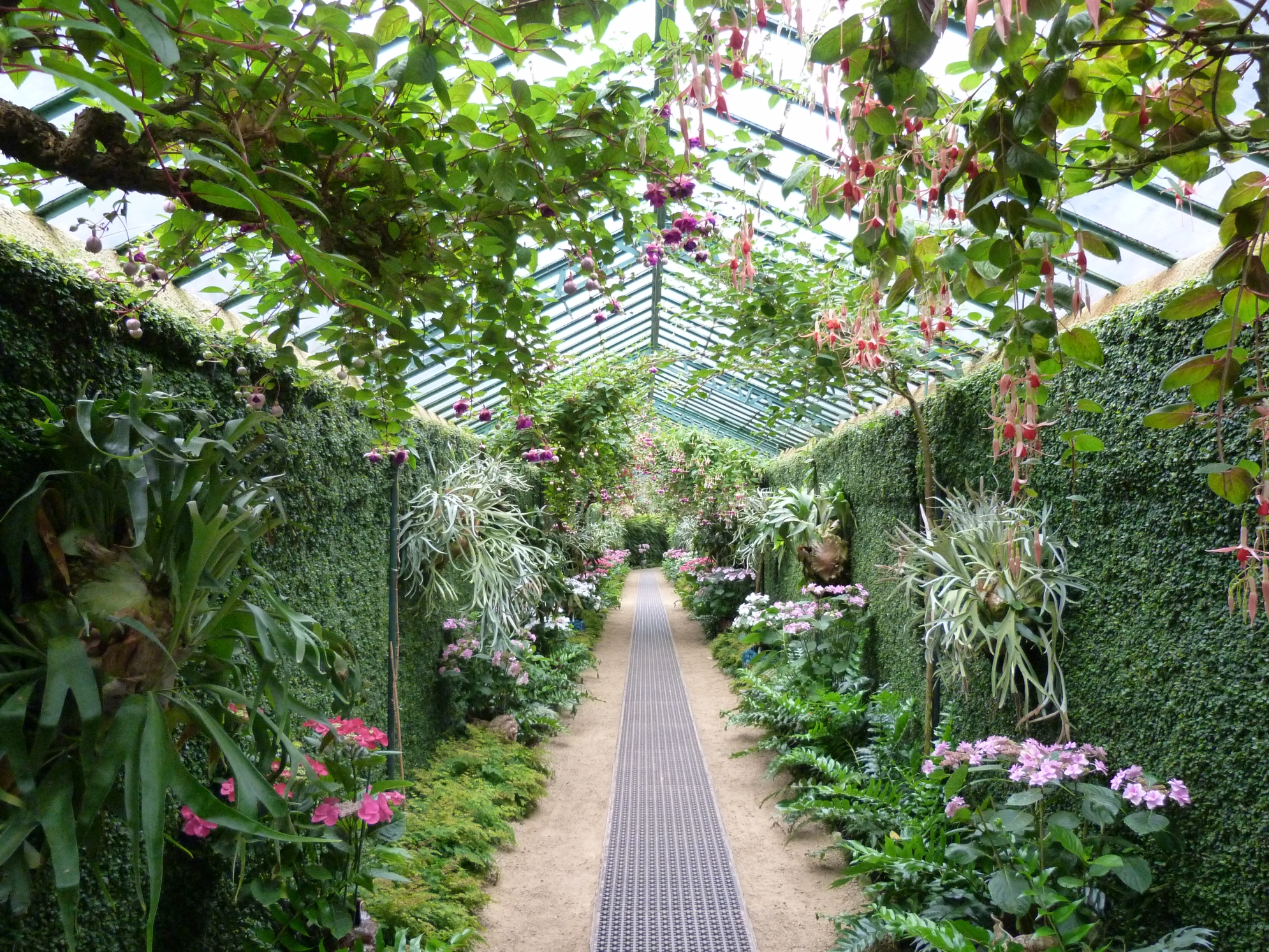 an image of greenhouses File:Laeken Royal Greenhouses