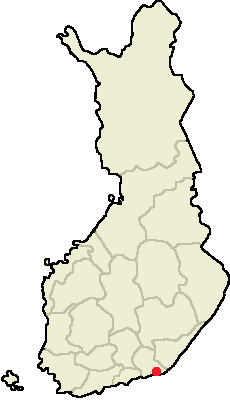 Location of Hamina in Finland.png