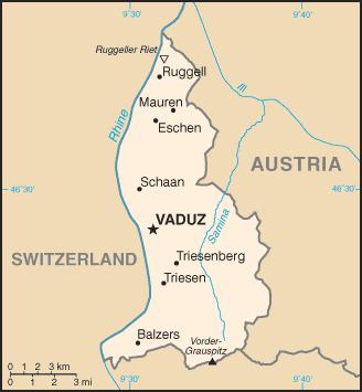 Geography of liechtenstein wikipedia map of the principality of liechtenstein ccuart Images