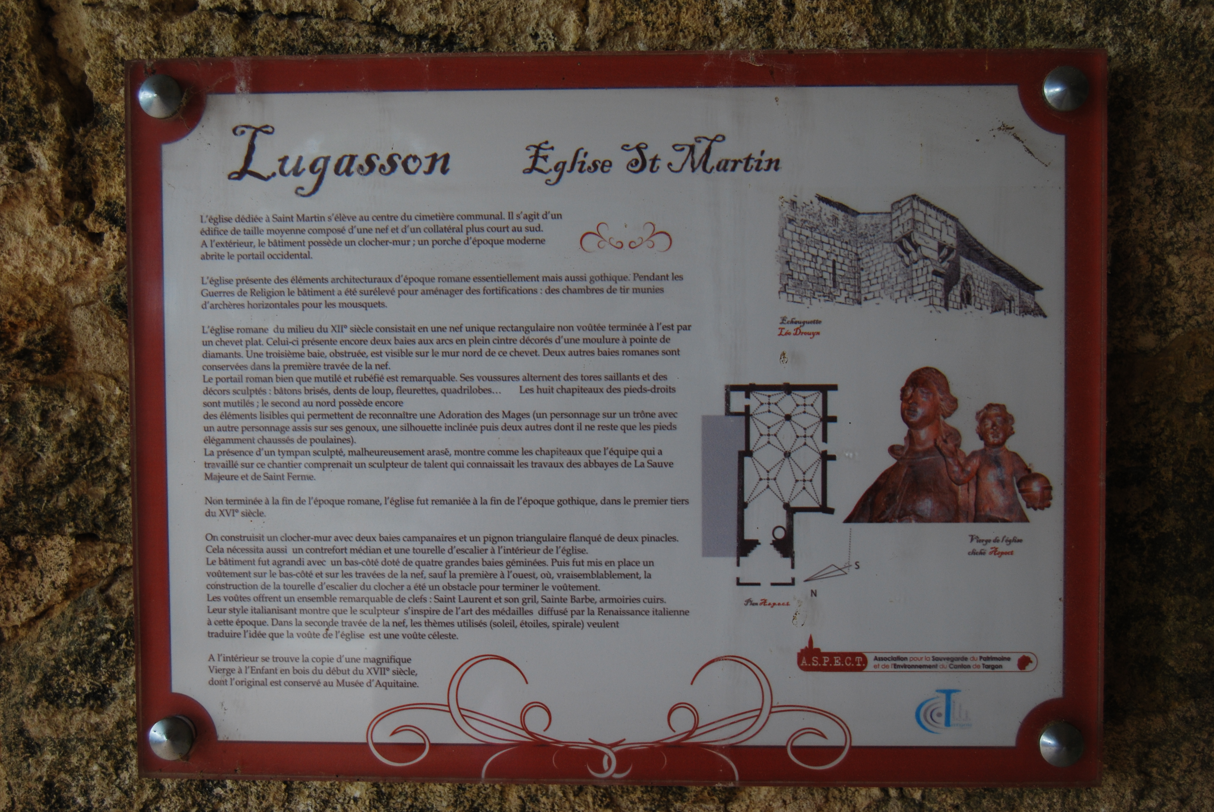 Taille Moyenne D Une Chambre file:lugasson eglise st martin 3 notice - wikimedia commons