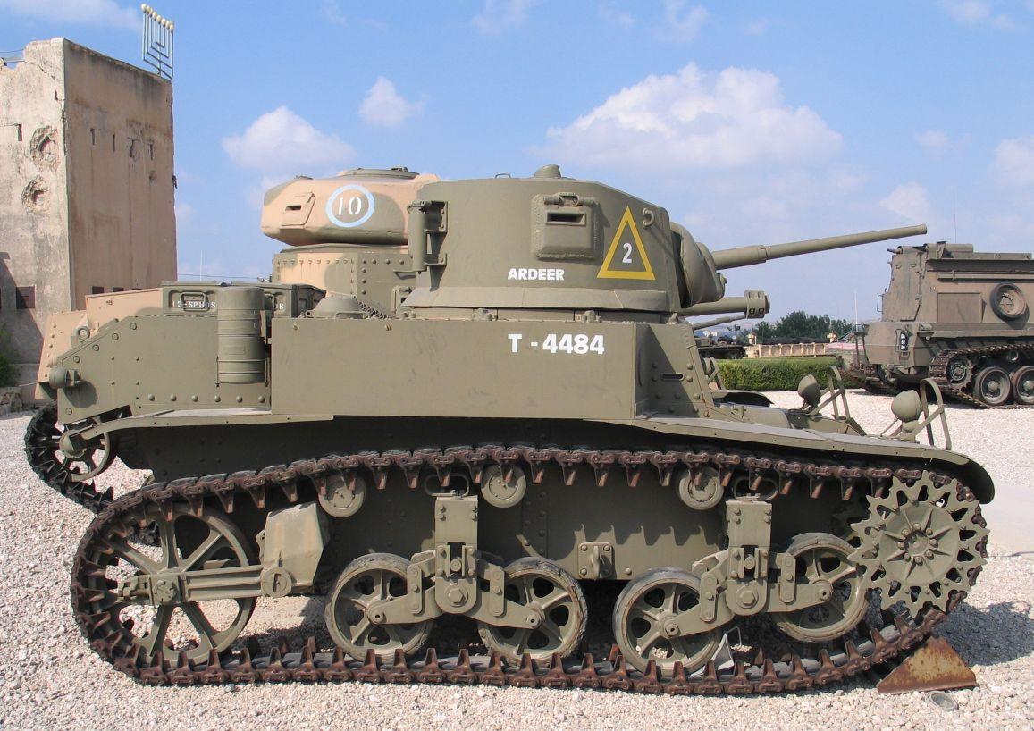 M3 Stuart M3A1-Stuart-latrun-2
