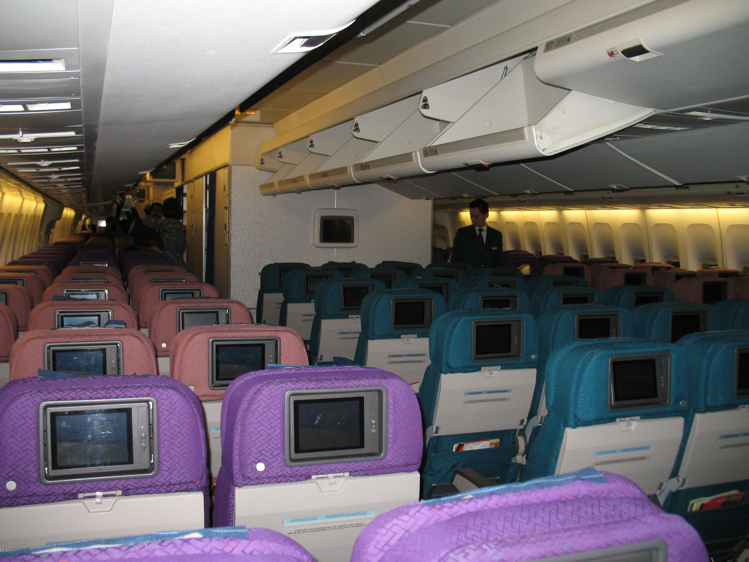 A Interior Malaysia Airlines