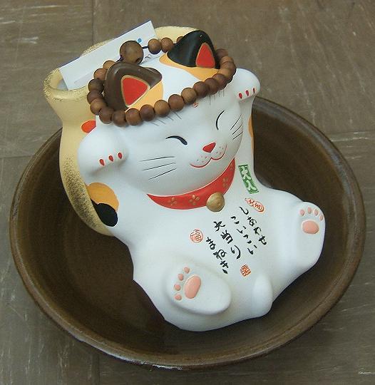 Maneki neko le chat porte-bonheur japonais