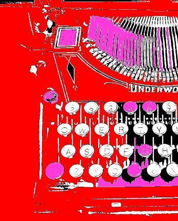 English: typewriter