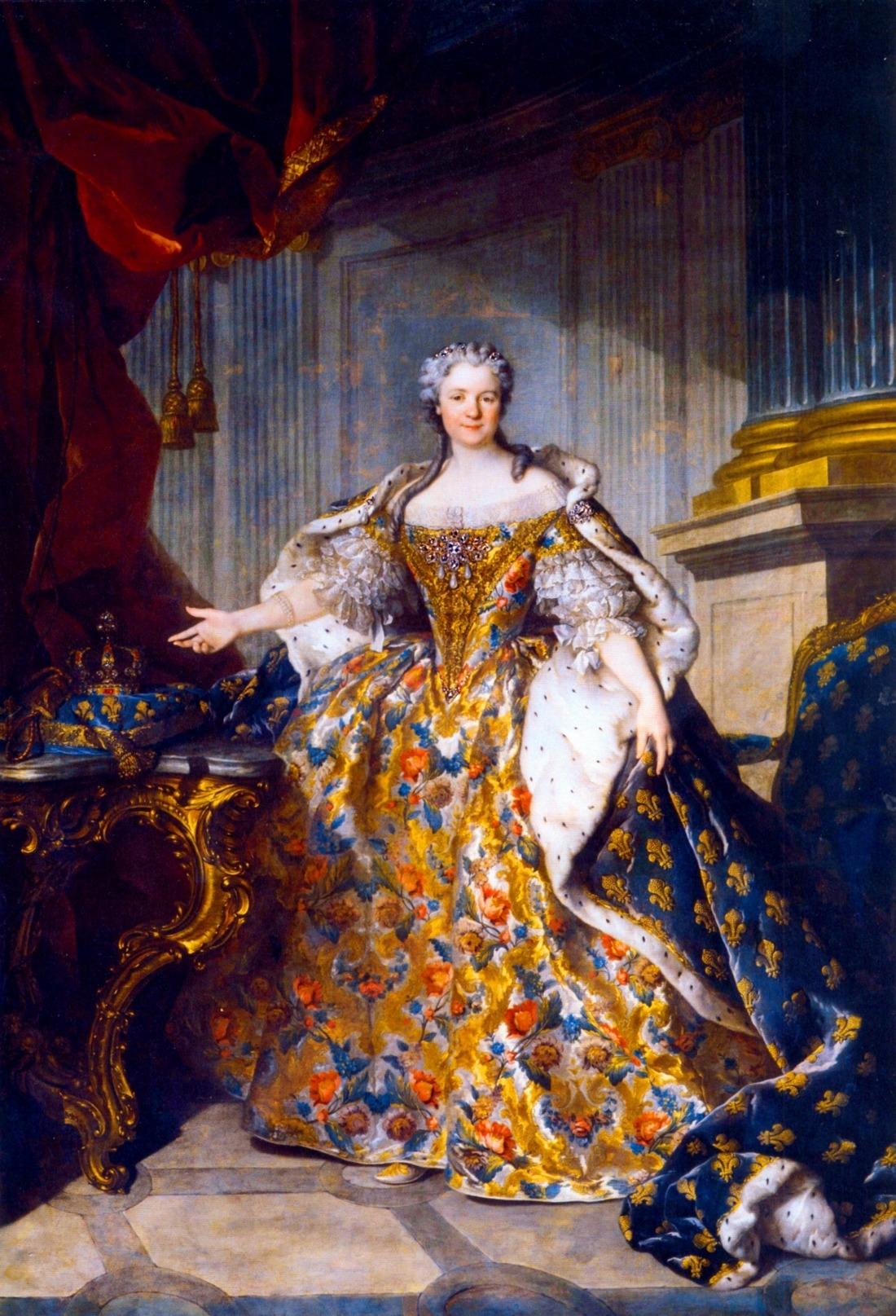 Marie Leszczyńska, Queen of France - Louis Tocqué.jpg