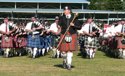 Massed bands at the 2005 Pacific Northwest Highland Games Massed Bands, 2005 Pacific Northwest Highland Games.jpg