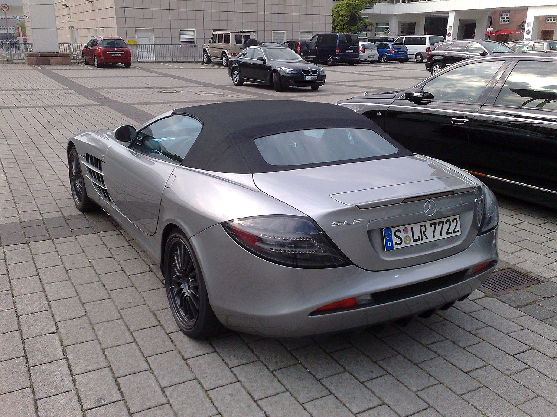 File Mercedes Benz Slr Mclaren 722 Edition Rear Jpg