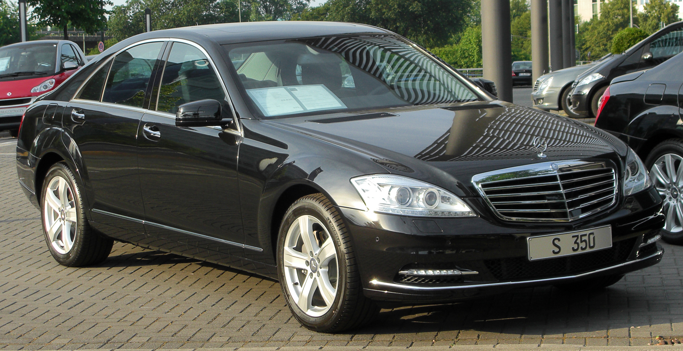file mercedes s 350 w221 facelift front. Black Bedroom Furniture Sets. Home Design Ideas