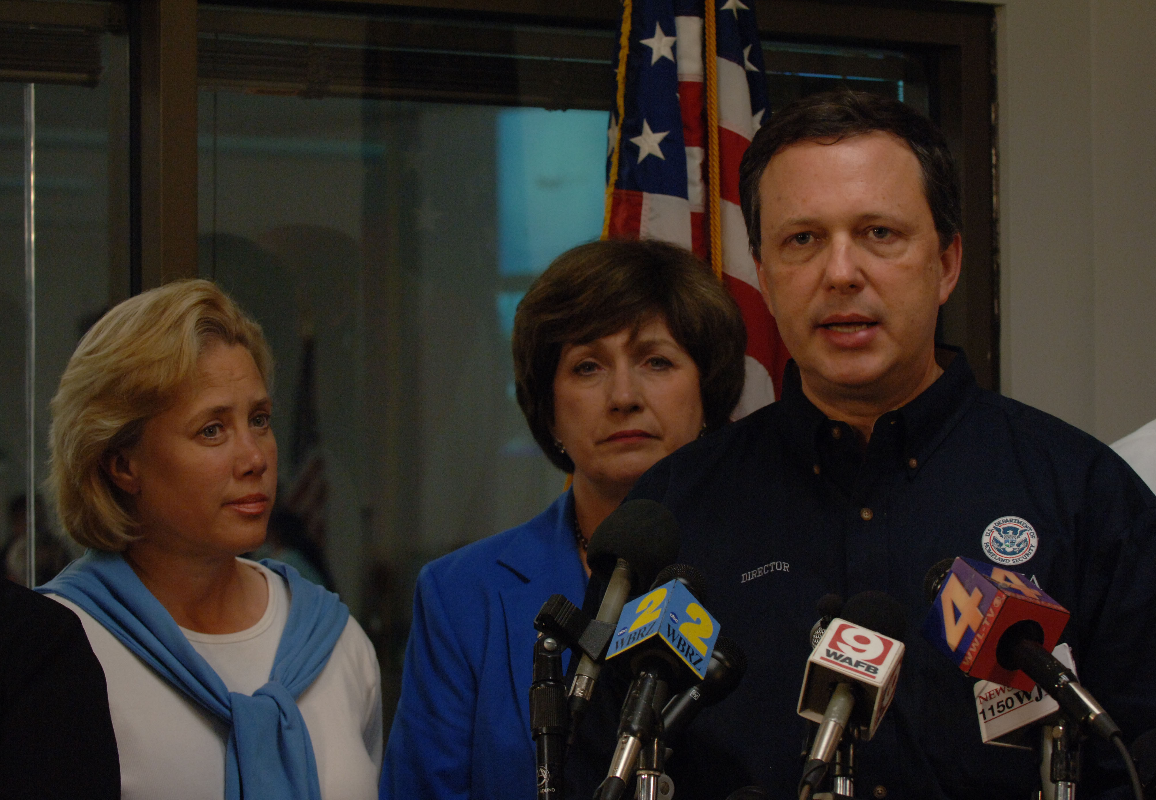 File:Michael Brown speaks at Office of Emergency Management