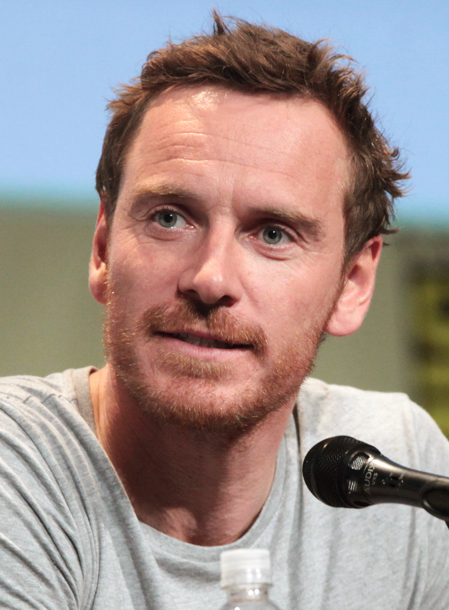 Fassbender at the 2015 <br>[[San Diego Comic-Con International]]