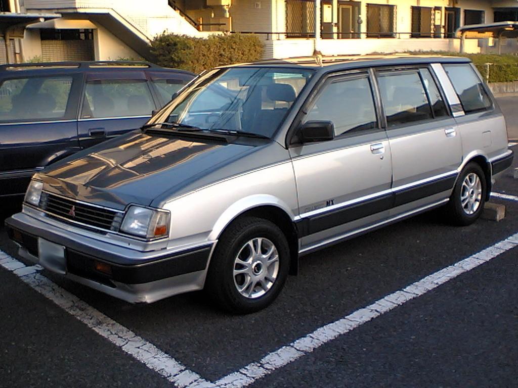 Depiction of Mitsubishi Chariot