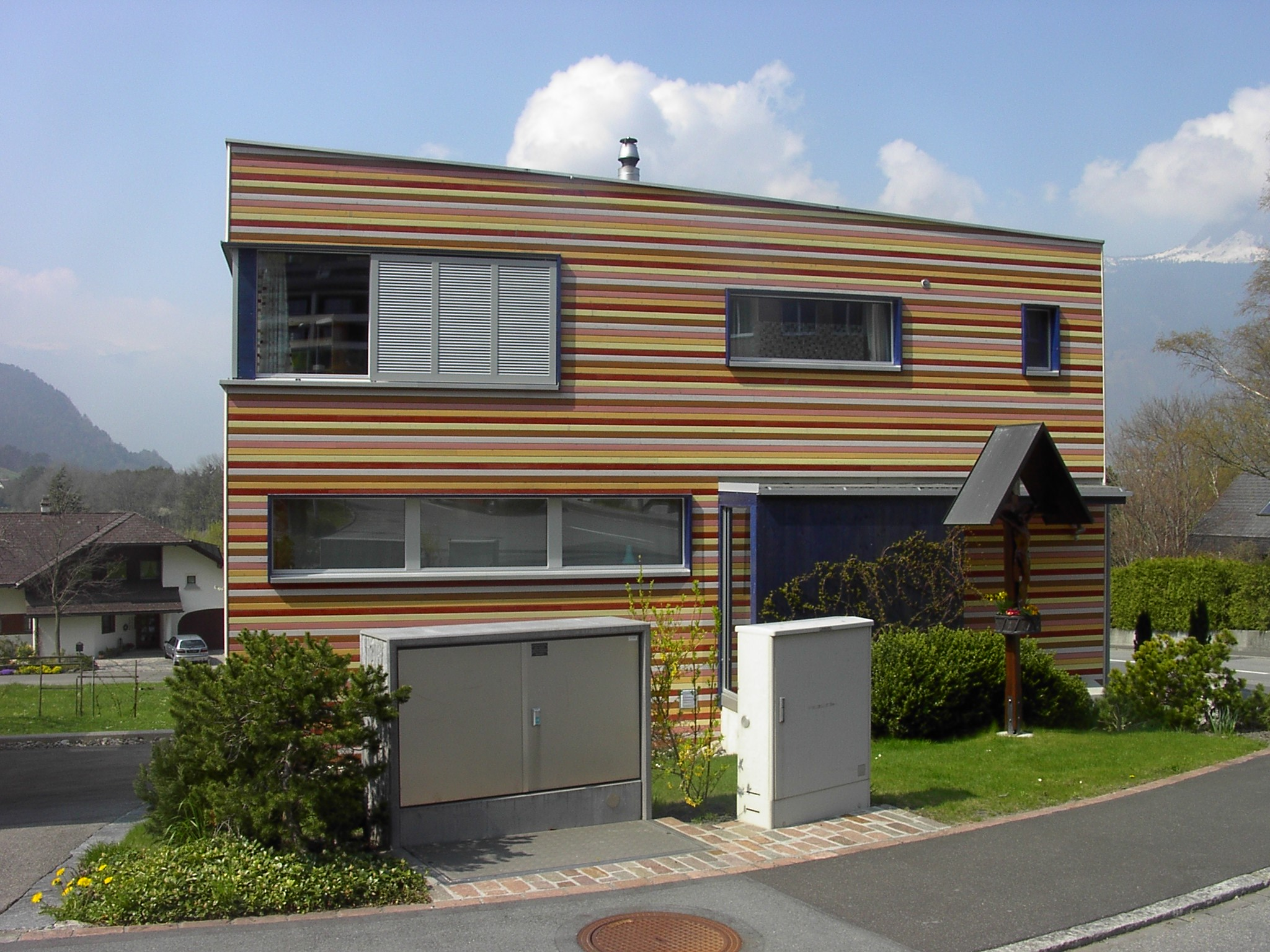 File:Modernes Haus An Der Alten Churerstrasse   Panoramio