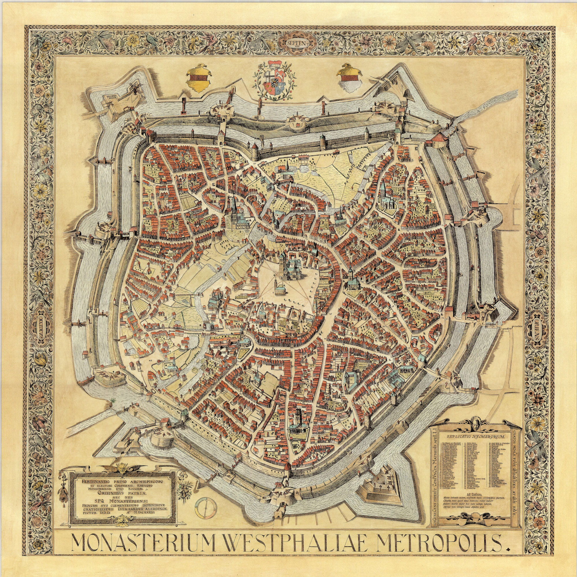 Münster Germany In Years Before The Peace Of Westphalia - Germany map munster