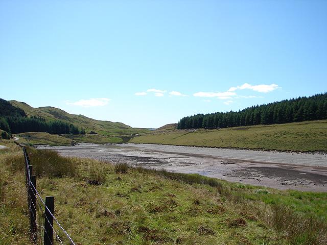 Nant-y-Moch Reservoir - geograph.org.uk - 914957