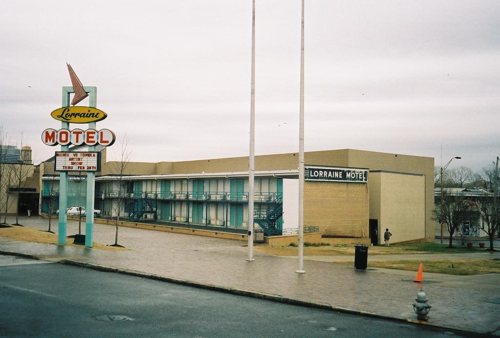 A Green Book motel site