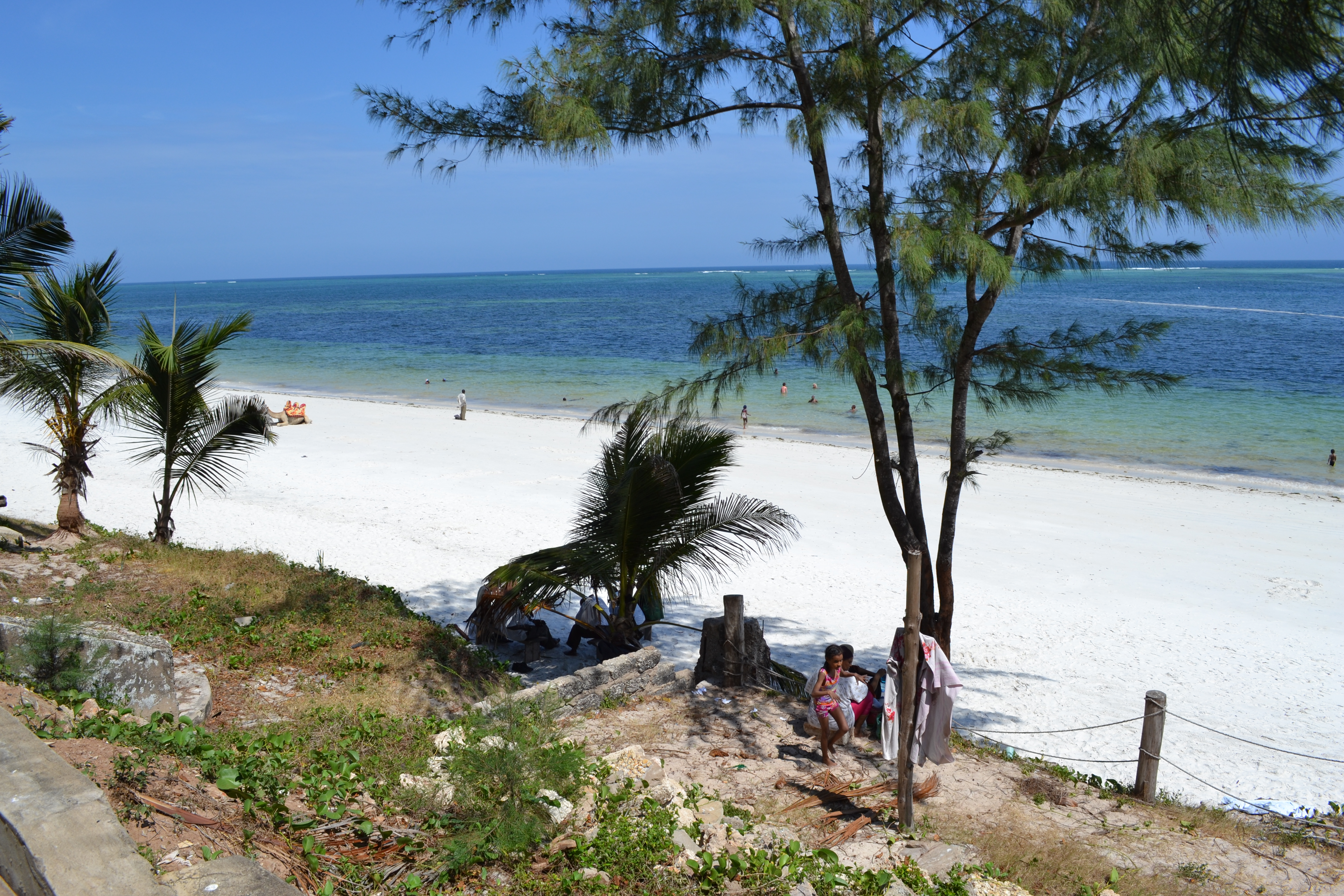 Bamburi Beach Hotel Feuer