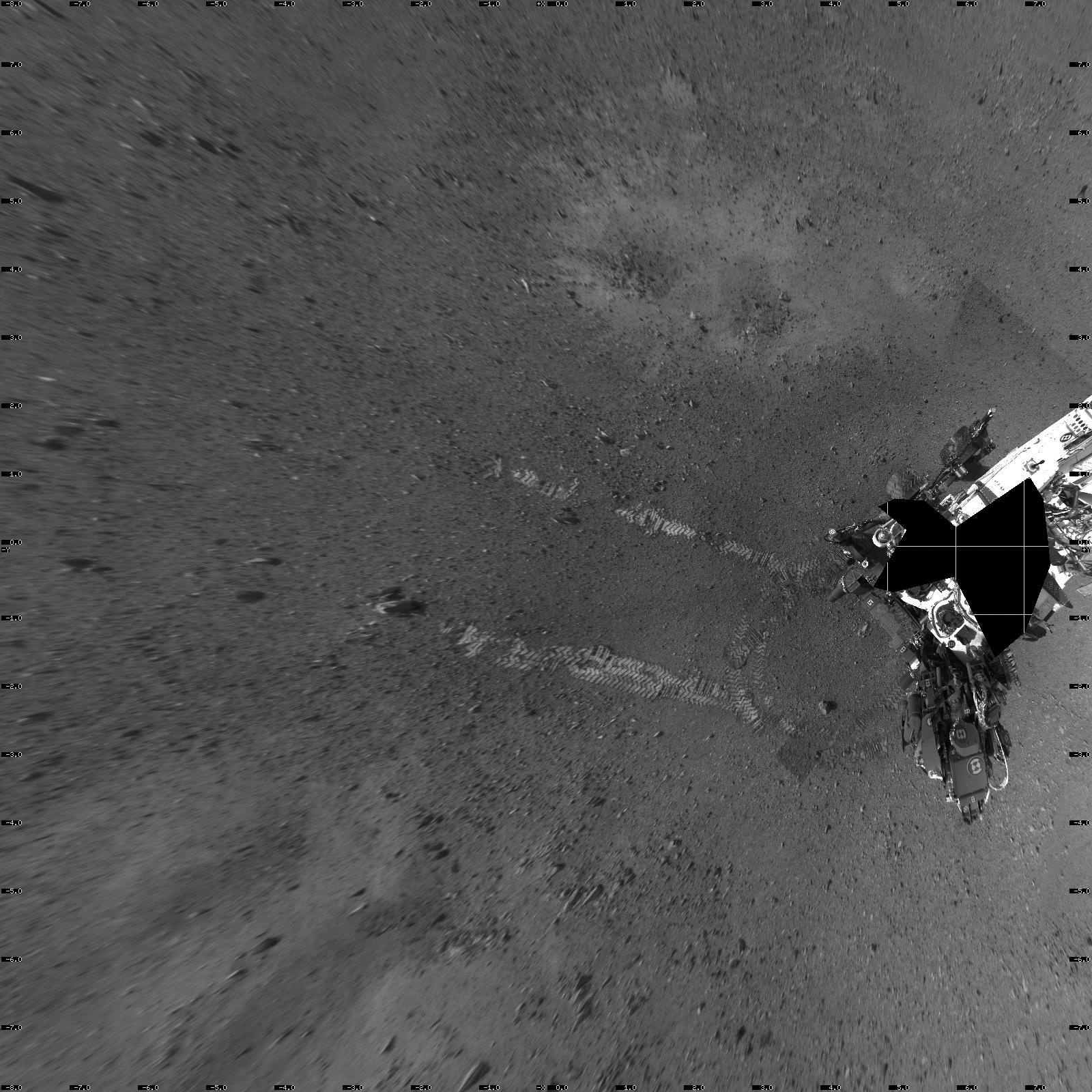 curiosity landing on steps-#13