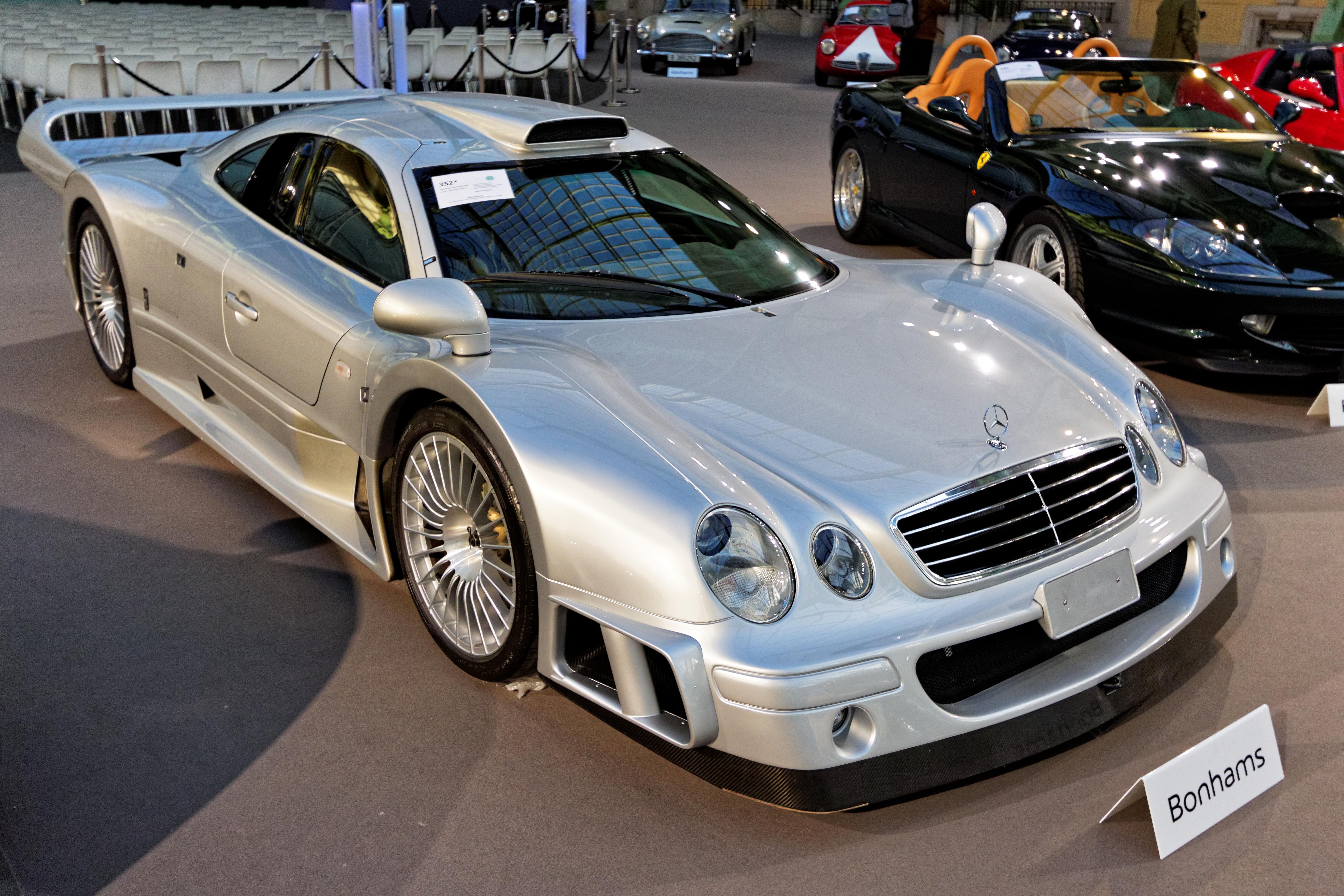 File Paris Bonhams 2016 Mercedes Benz Clk Gtr Coupé 2000 002 Jpg