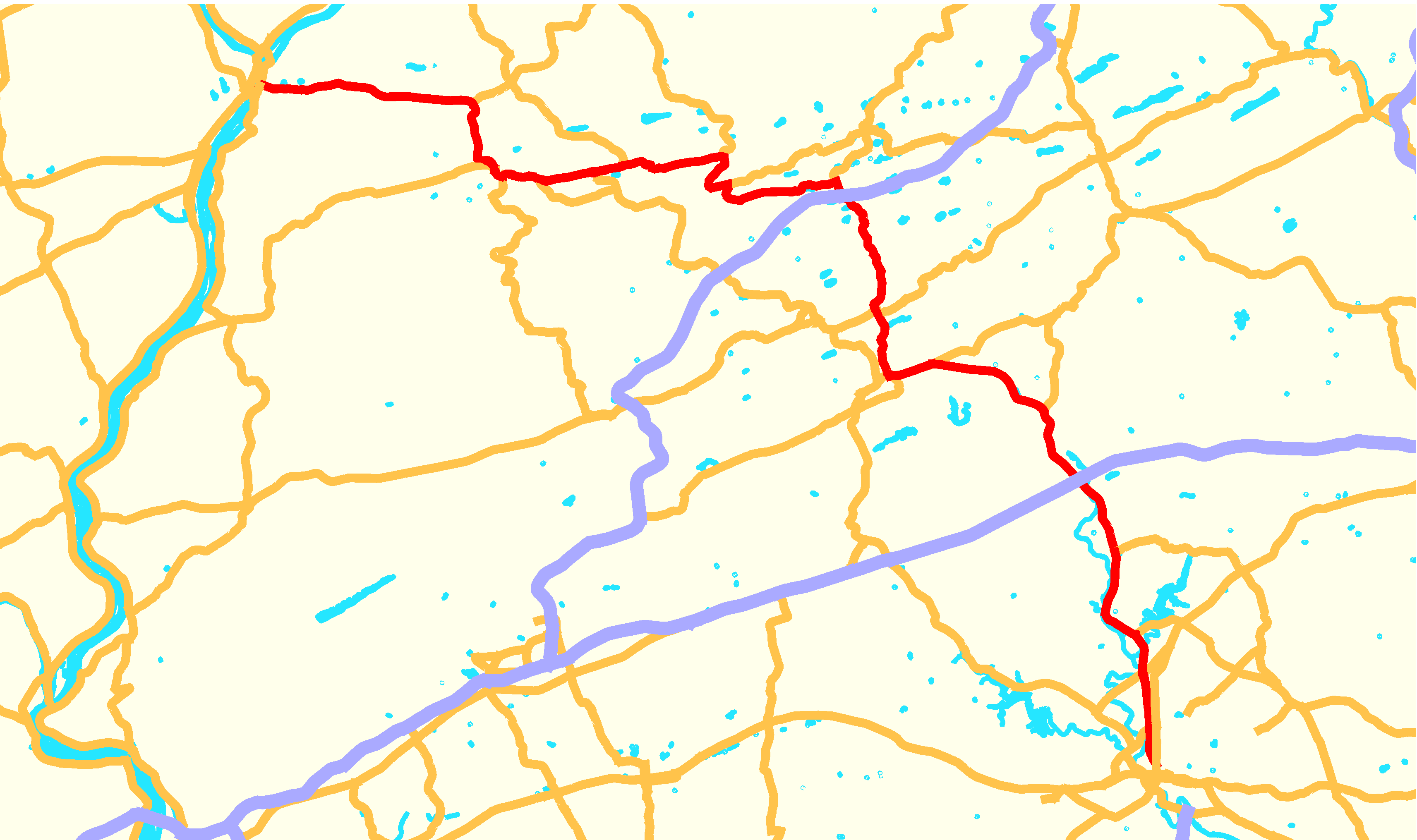 Image of: File Pennsylvania Route 61 Map Png Wikimedia Commons