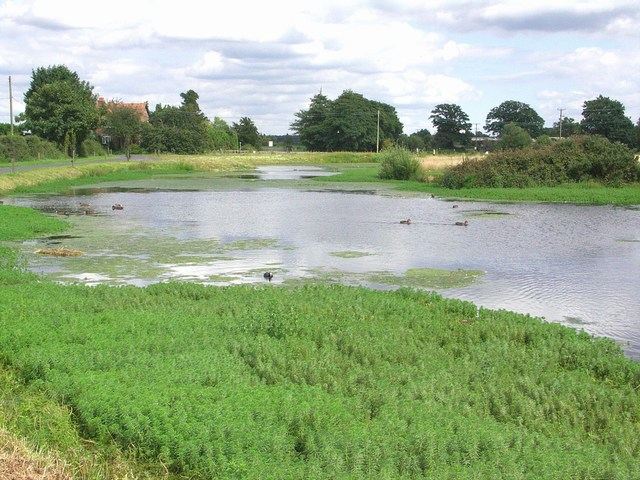 Pond at Parley Green - geograph.org.uk - 509230