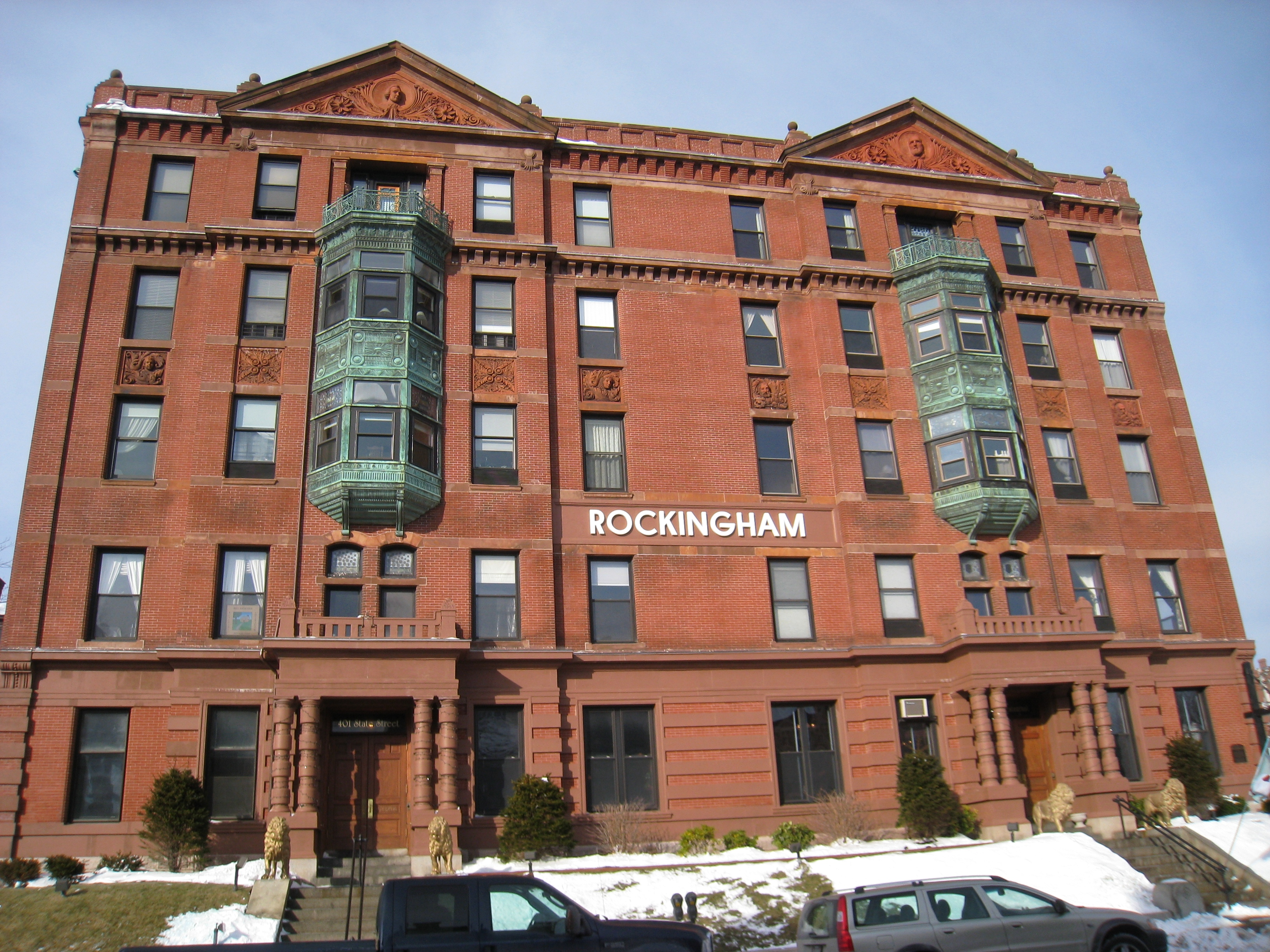 File Portsmouth Nh Rockingham Hotel Facade Jpg
