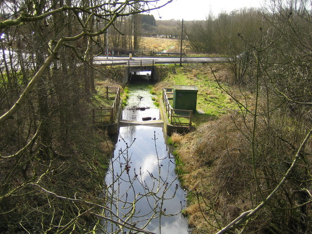 River Ver south of Redbourn - geograph.org.uk - 142596