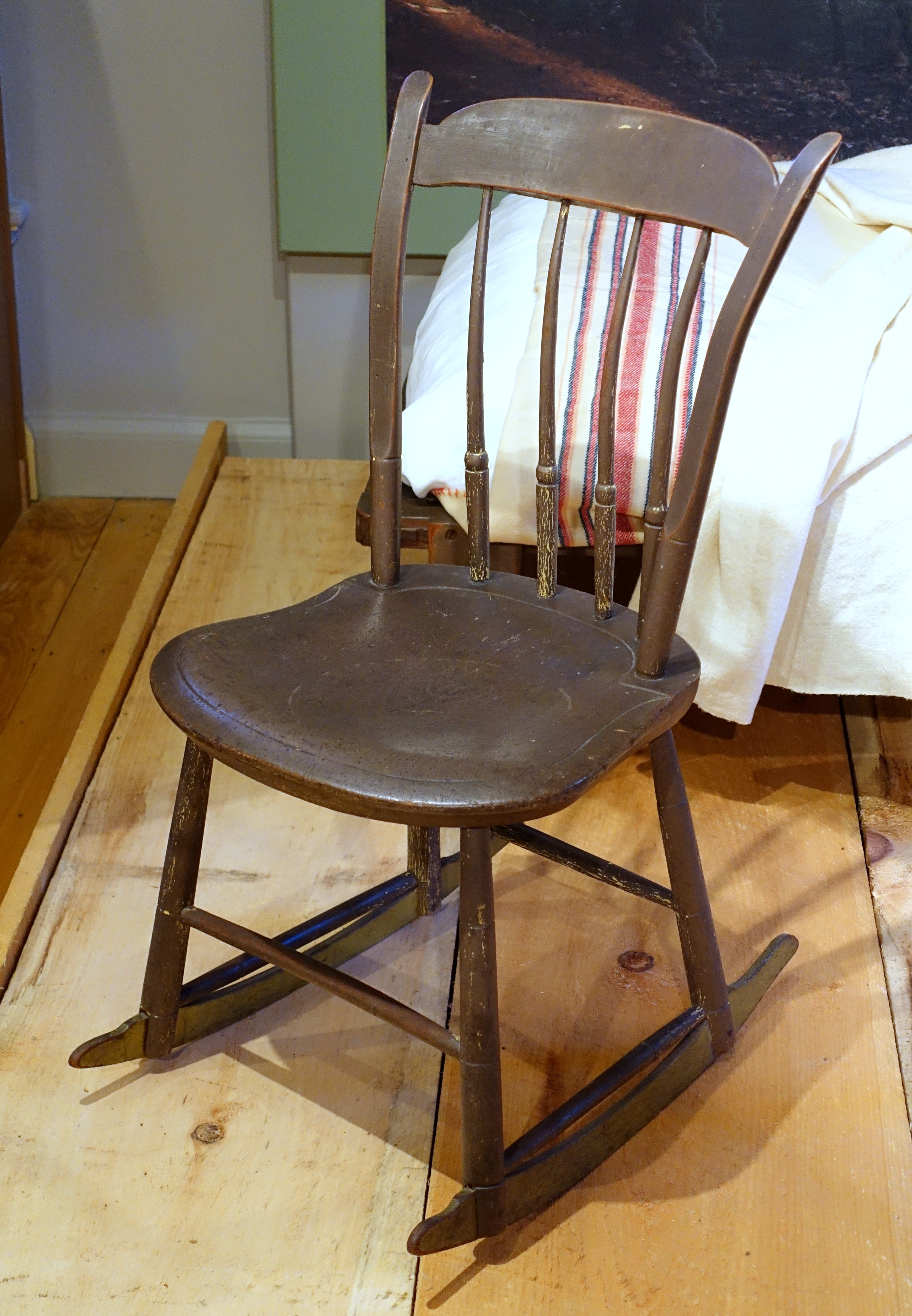 File:Rocking Chair At Walden Pond Owned By Henry David Thoreau, Worcester  Country,