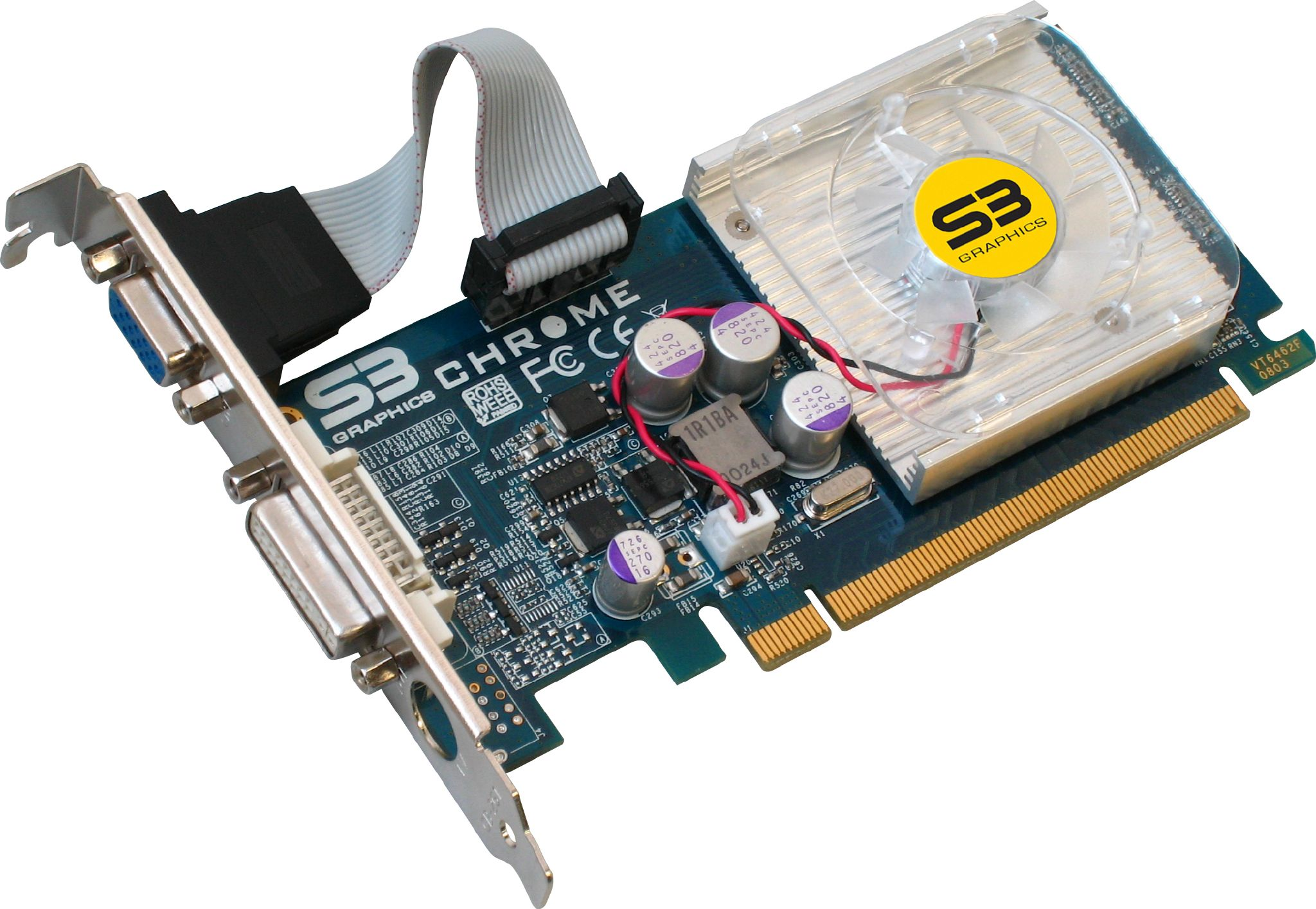 S3 Graphics Chrome PCIe Driver (2019)