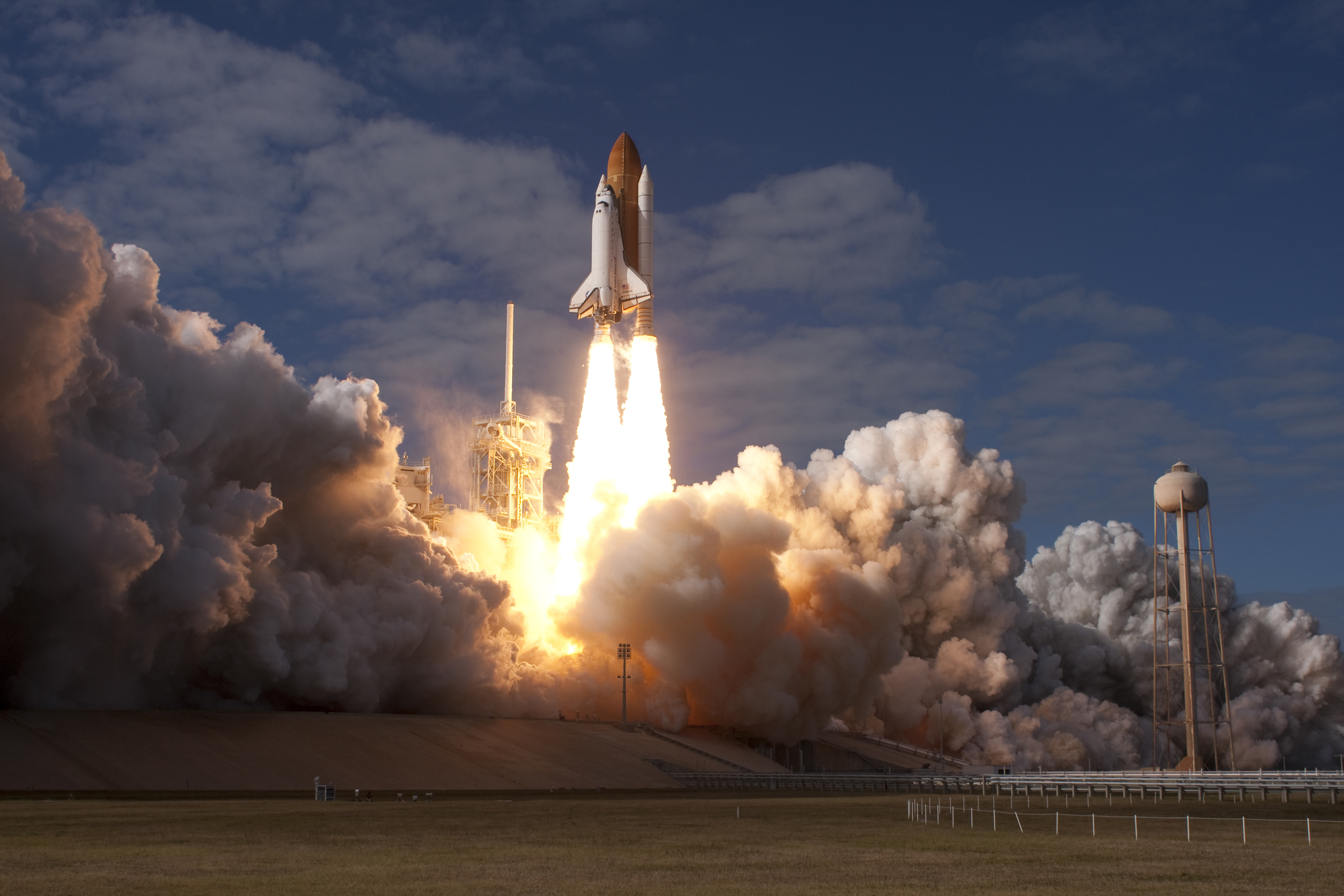Space Shuttle Atlantis Launch - Pics about space