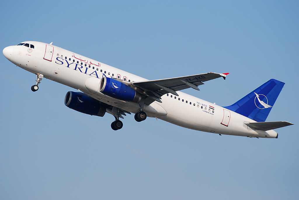 Sirianeyr Airlines (Syrian Air). Official sayt.3