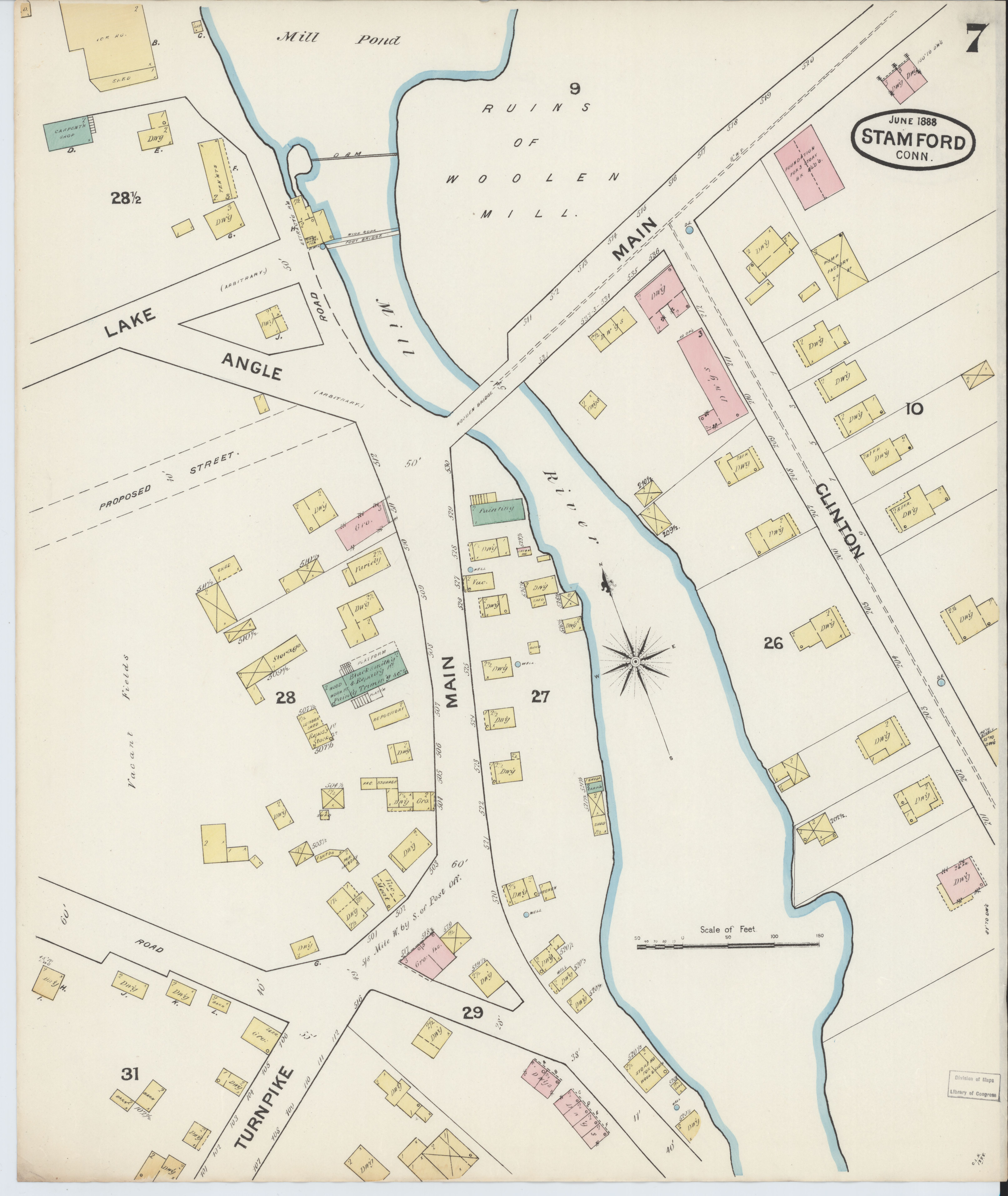 File:Sanborn Fire Insurance Map from Stamford, Fairfield ...