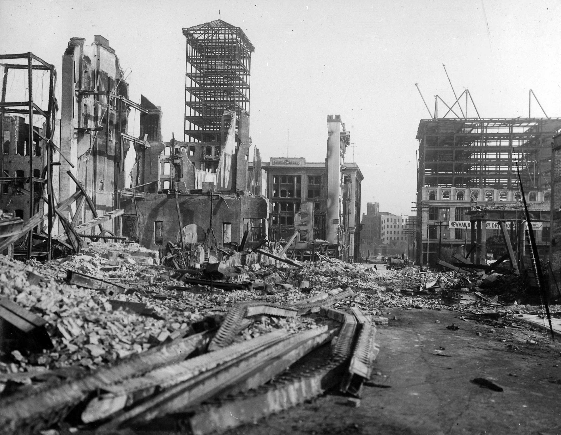A Line from Linda: San Francisco Earthquake by Numbers
