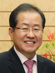 Hong Jun-pyo, former leader of LKP