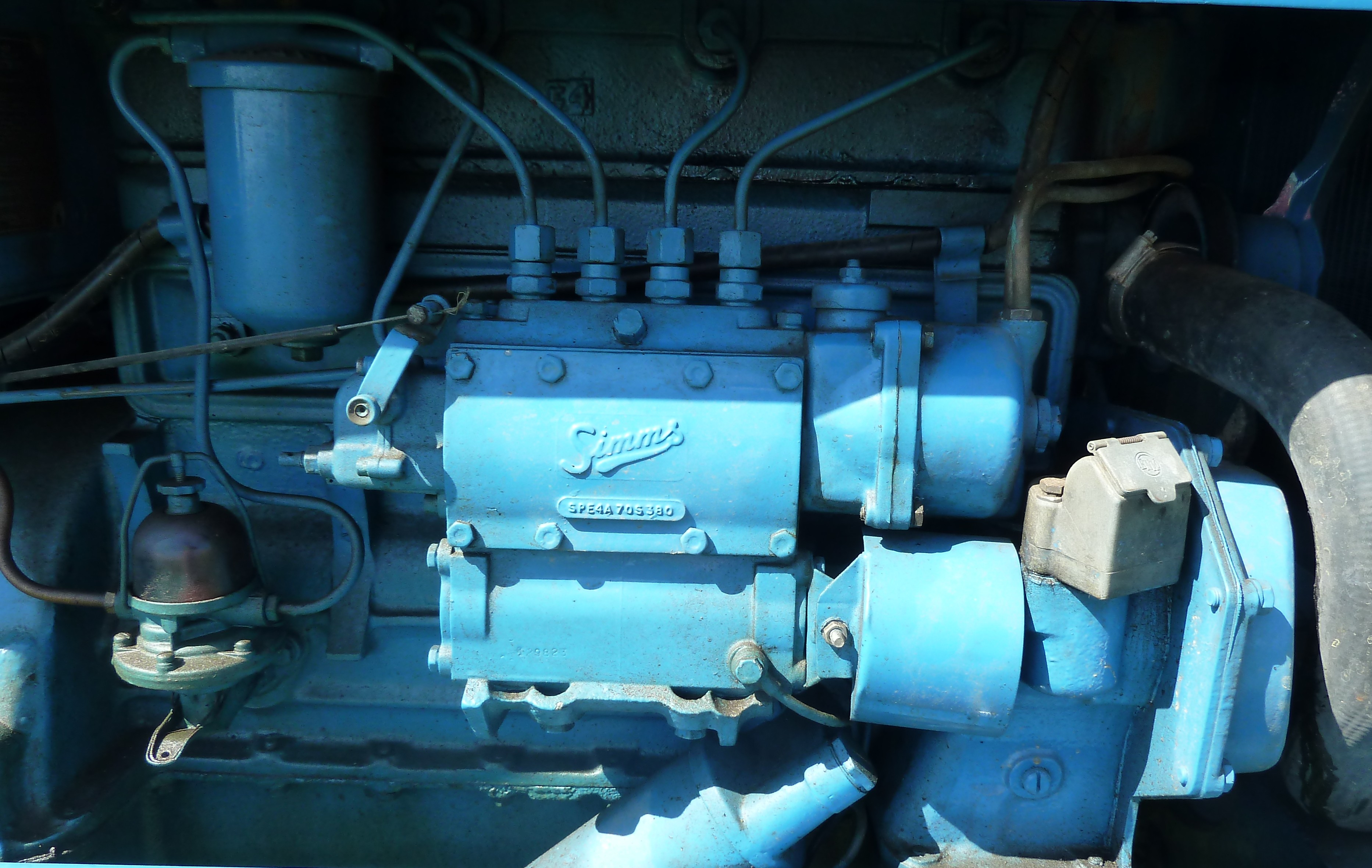 Simms diesel for Dexta Fordson fuel pump need A Troubleshooting