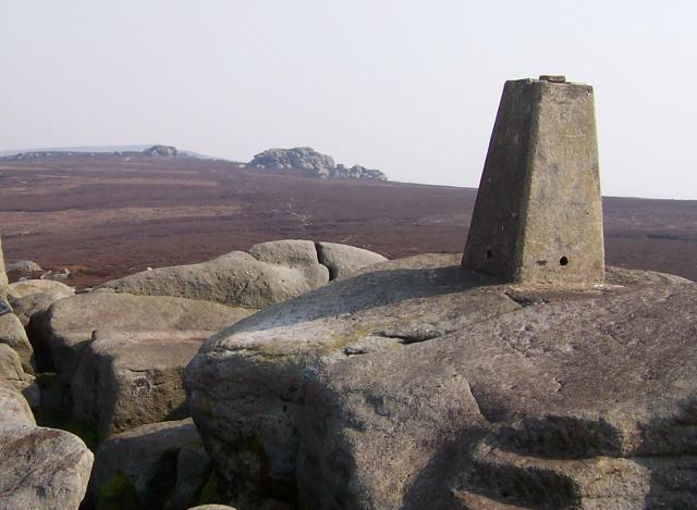 Simon's Seat with Lord's Seat and the Great Pock Stones - geograph.org.uk - 410617