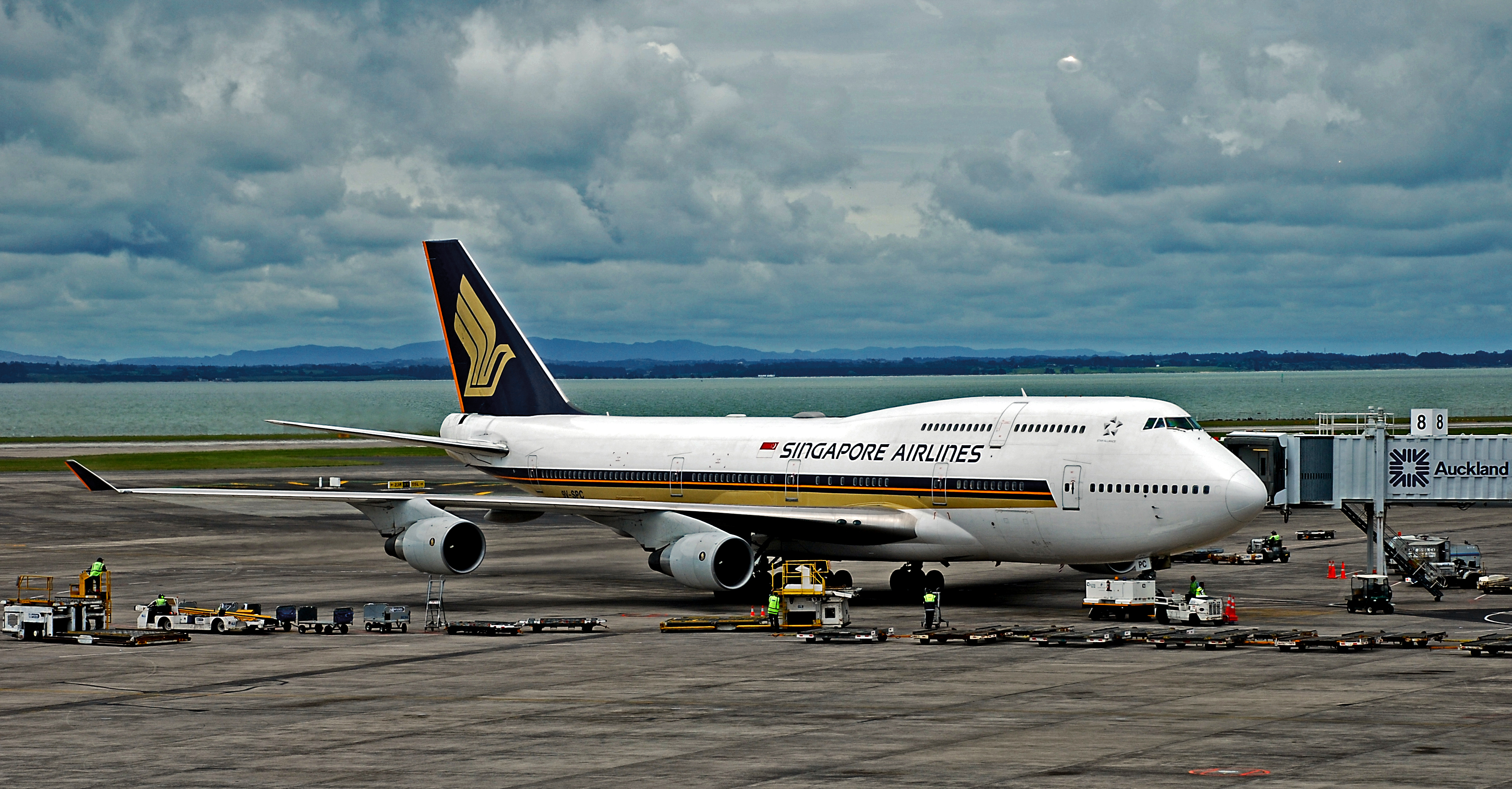 the end of an era at singapore airlines the gate