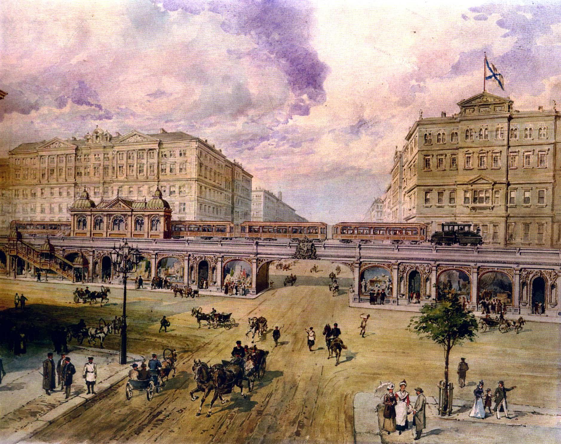 110 лет назад, в 1901 году, был разработан один из самых масштабных проектов московского метрополитена.
