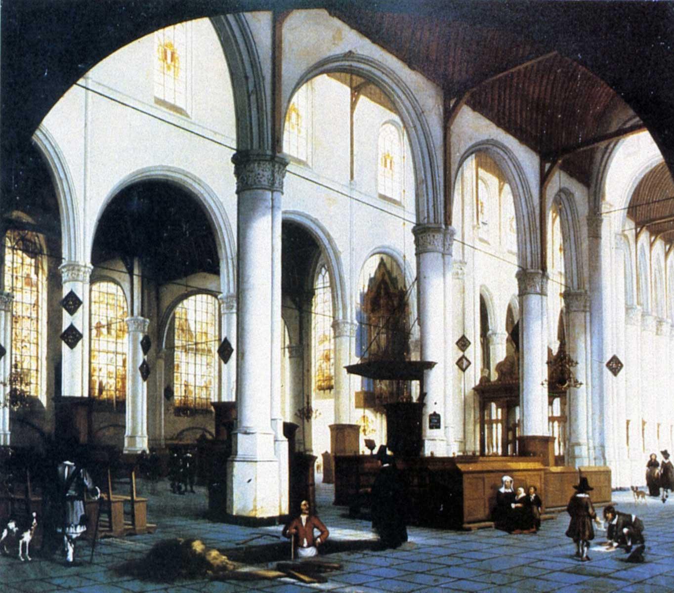 File:St.Janskerk Gouda Hendrick Cornelisz van Vliet.jpg - Wikimedia ...
