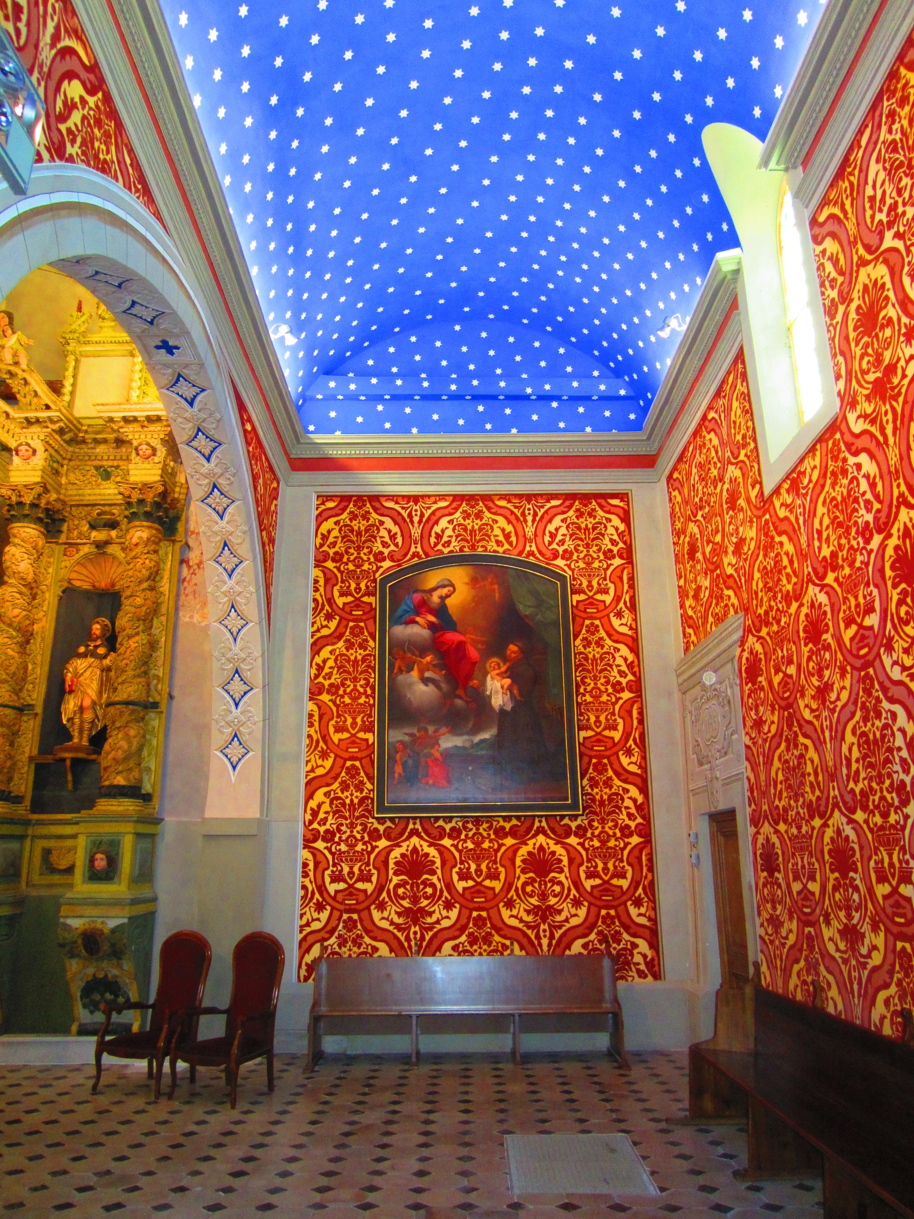 FileSt Bernardin Antibes plafond etoilejpg  Wikimedia