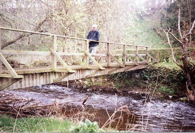 St Cuthbert's Way. Bridge across Kale Water - geograph.org.uk - 65122