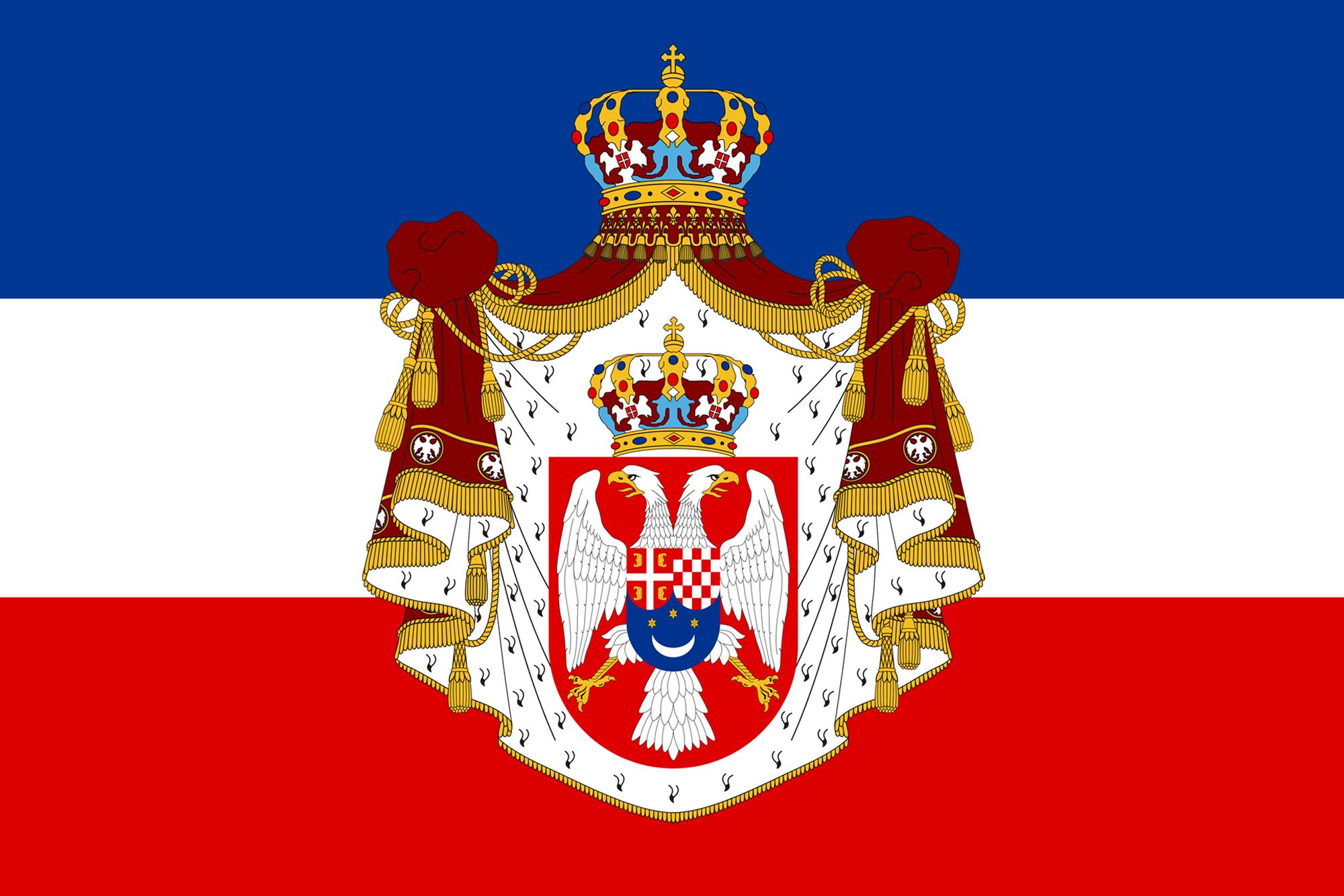 Kingdom of Yugoslavia FileState Flag of Kingdom of Yugoslaviapng Wikimedia Commons