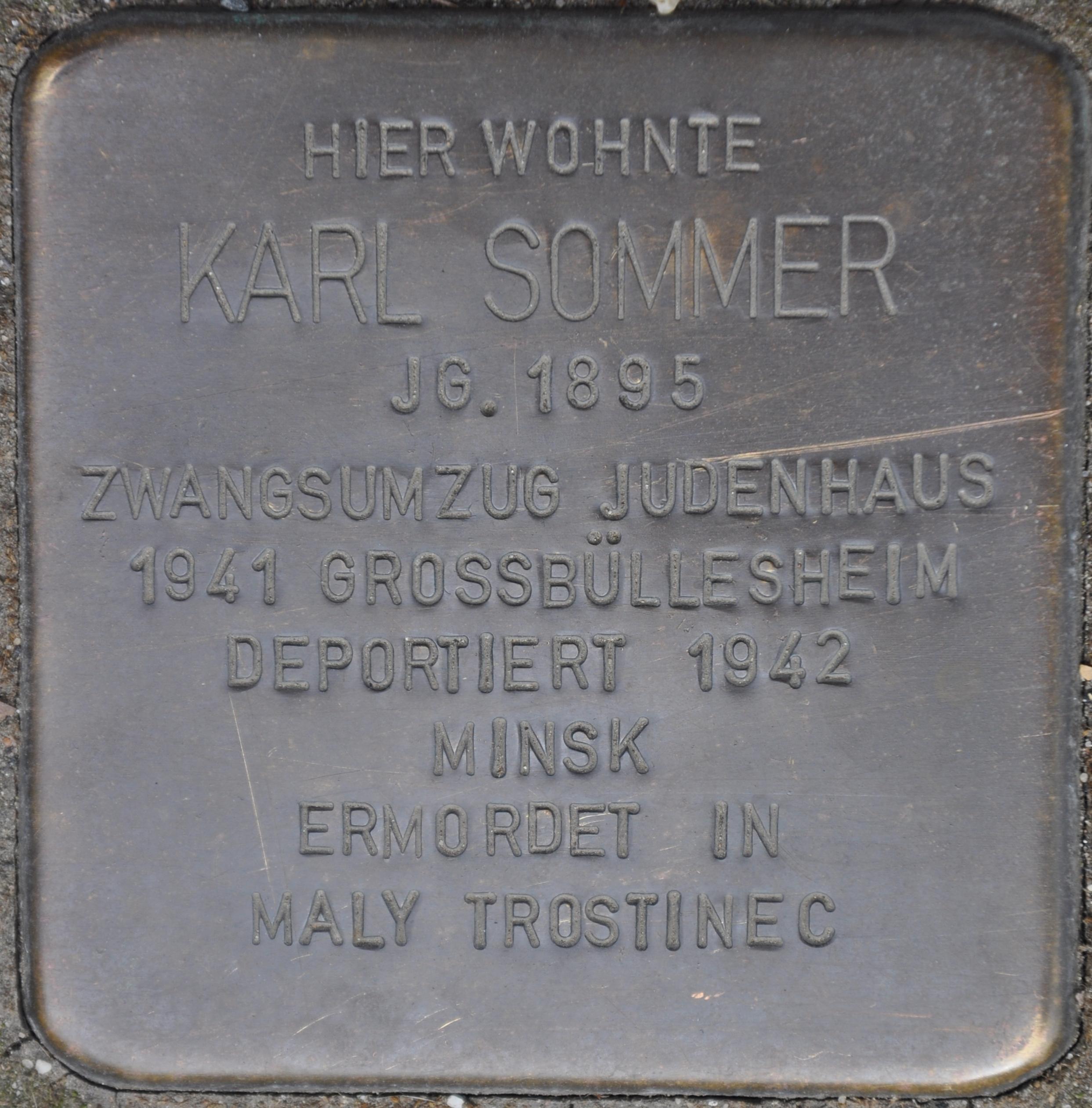 Bildergebnis für stolpersteine euskirchen kuchenheim