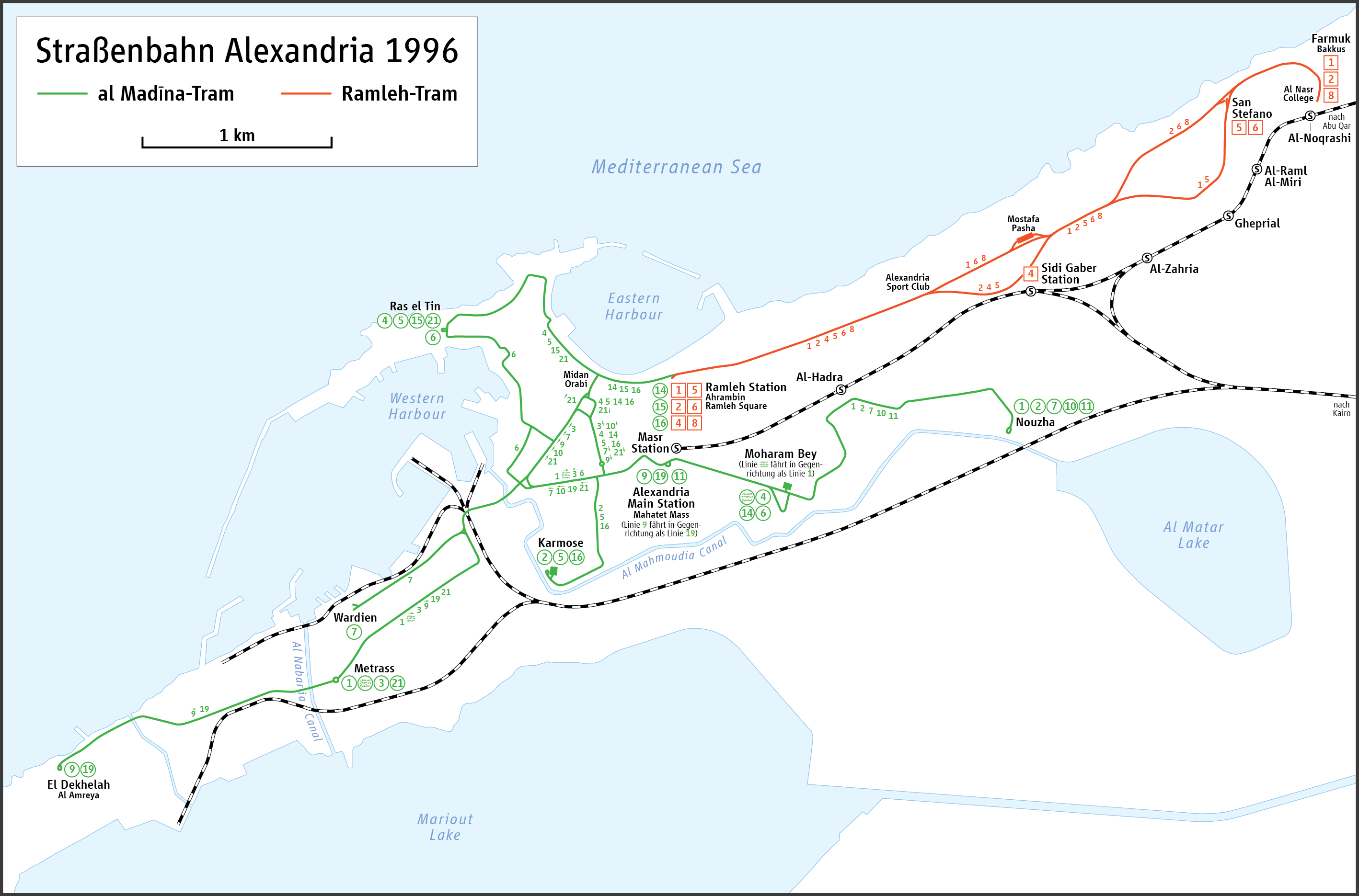 Picture of: Trams In Alexandria Wikipedia
