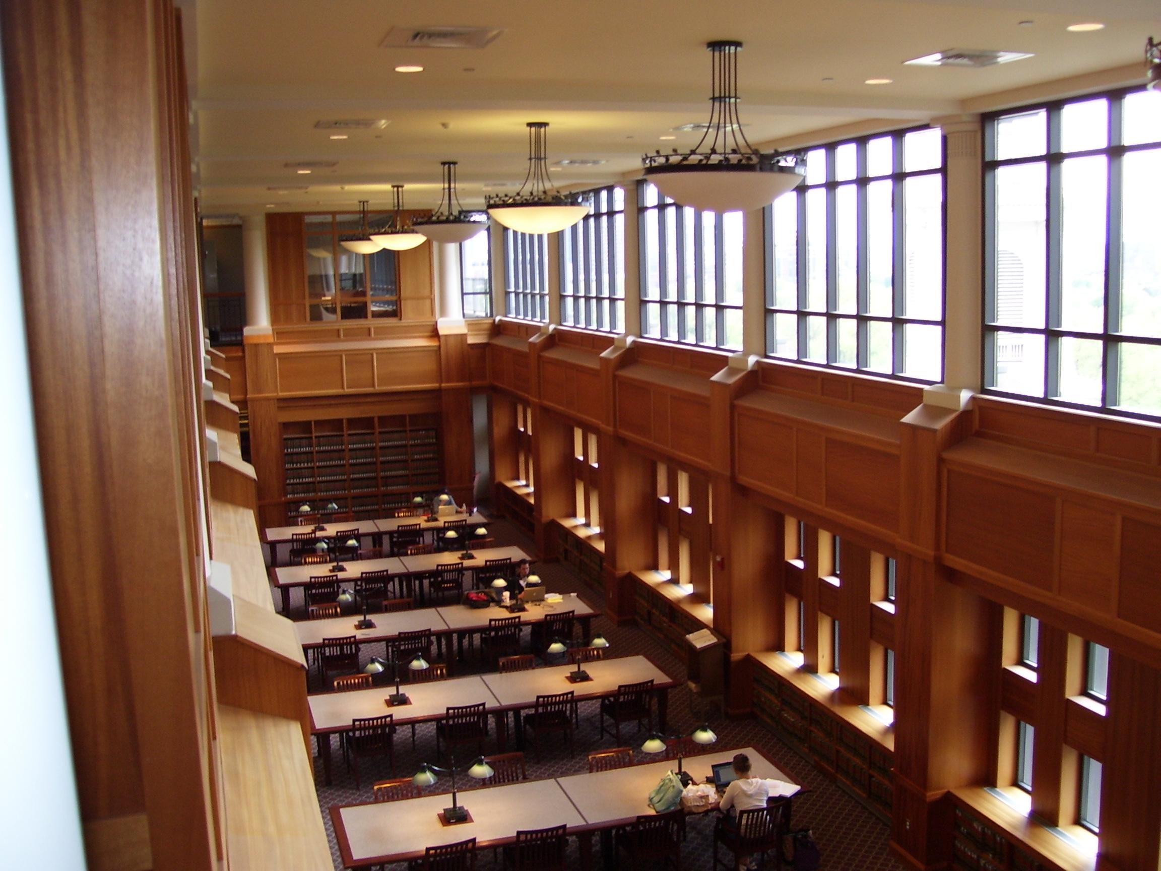 Suffolk University Library Study Room