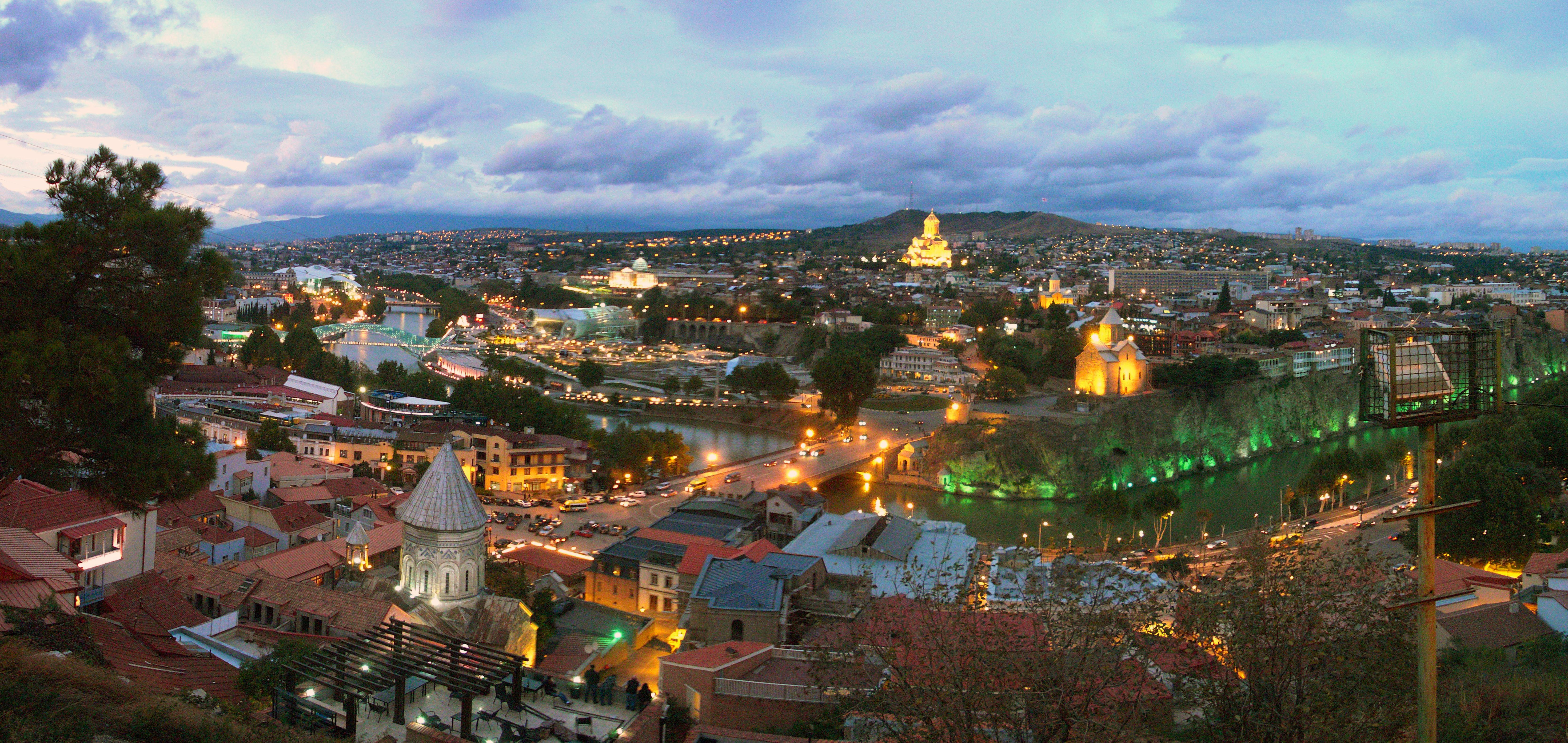 Georgia Tourism Tbilisi Georgia's Capital Tbilisi