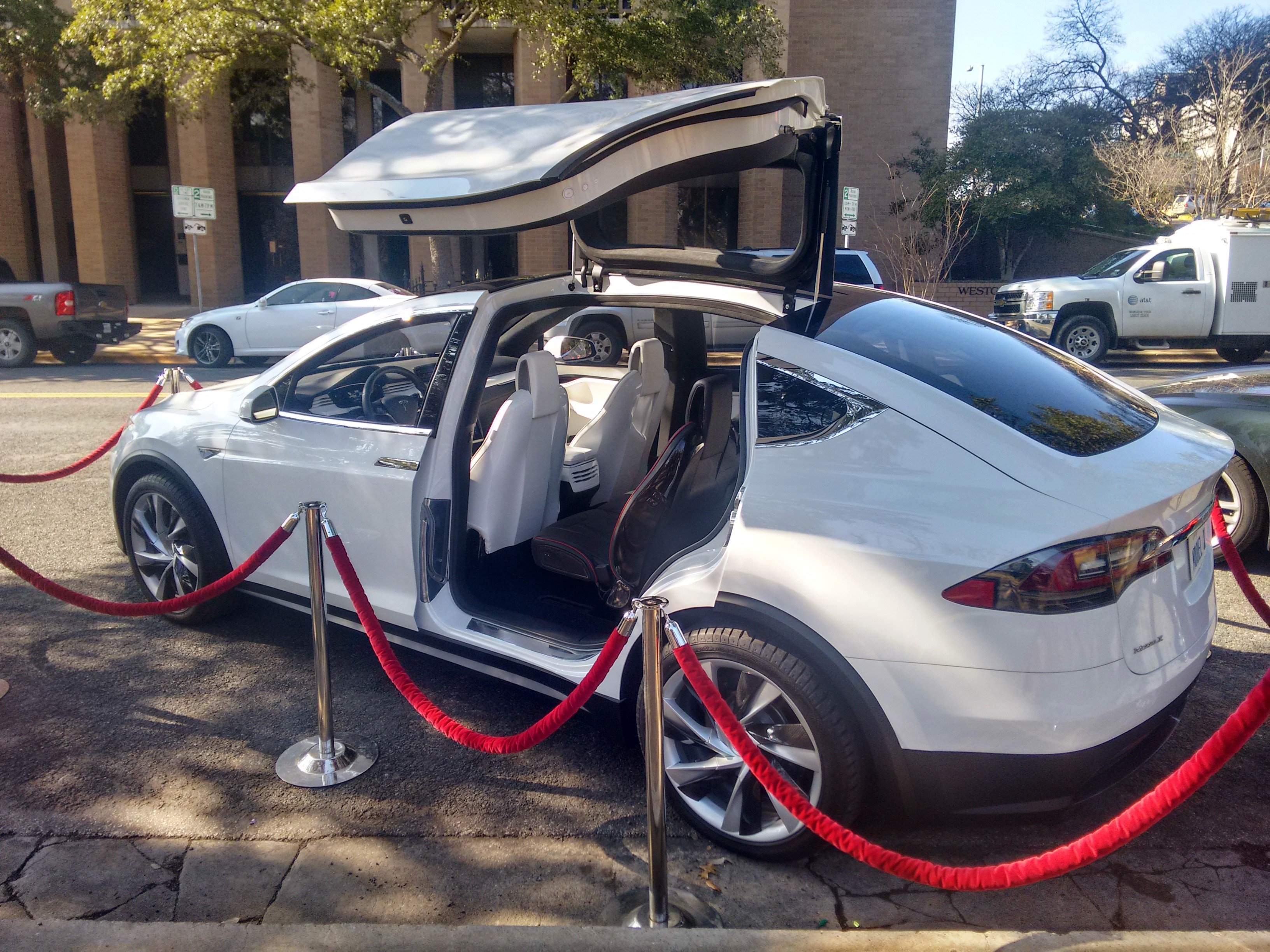 File Tesla Model X prototype at the Texas Capitol Austin 15th of