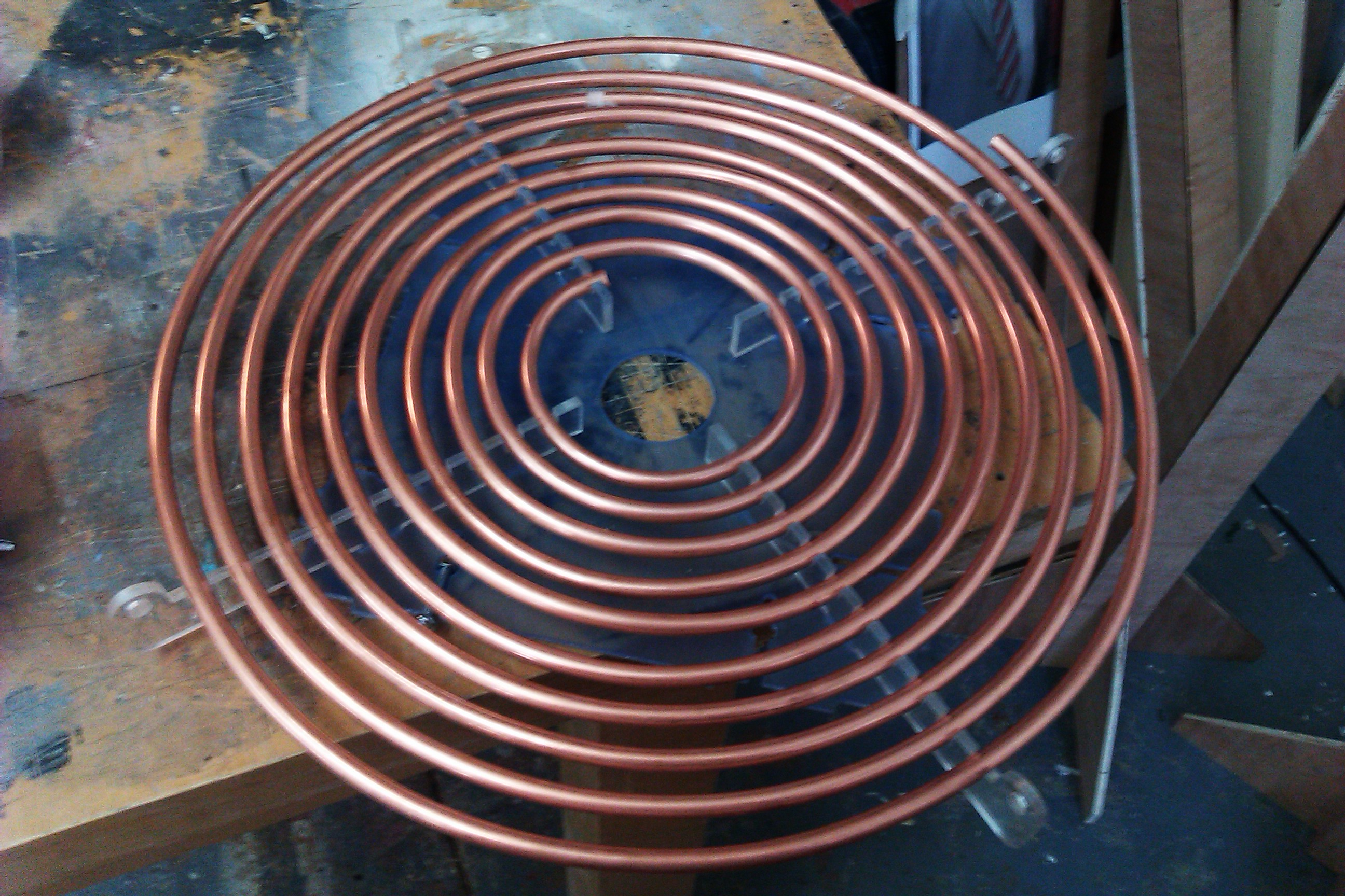 File Tesla Coil Primary Coil Jpg Wikimedia Commons